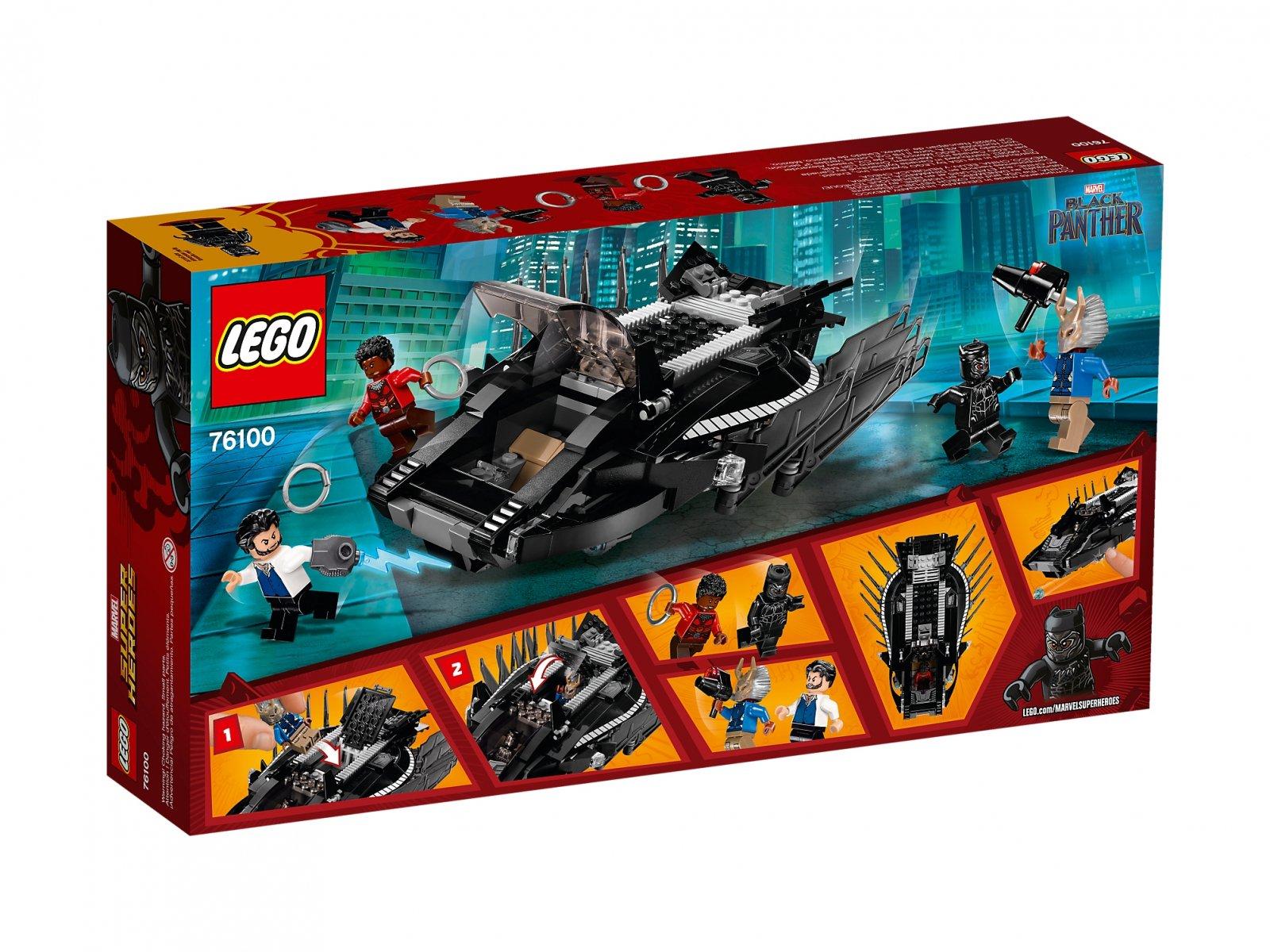 LEGO Marvel Super Heroes Atak myśliwca Royal Talon Fighter