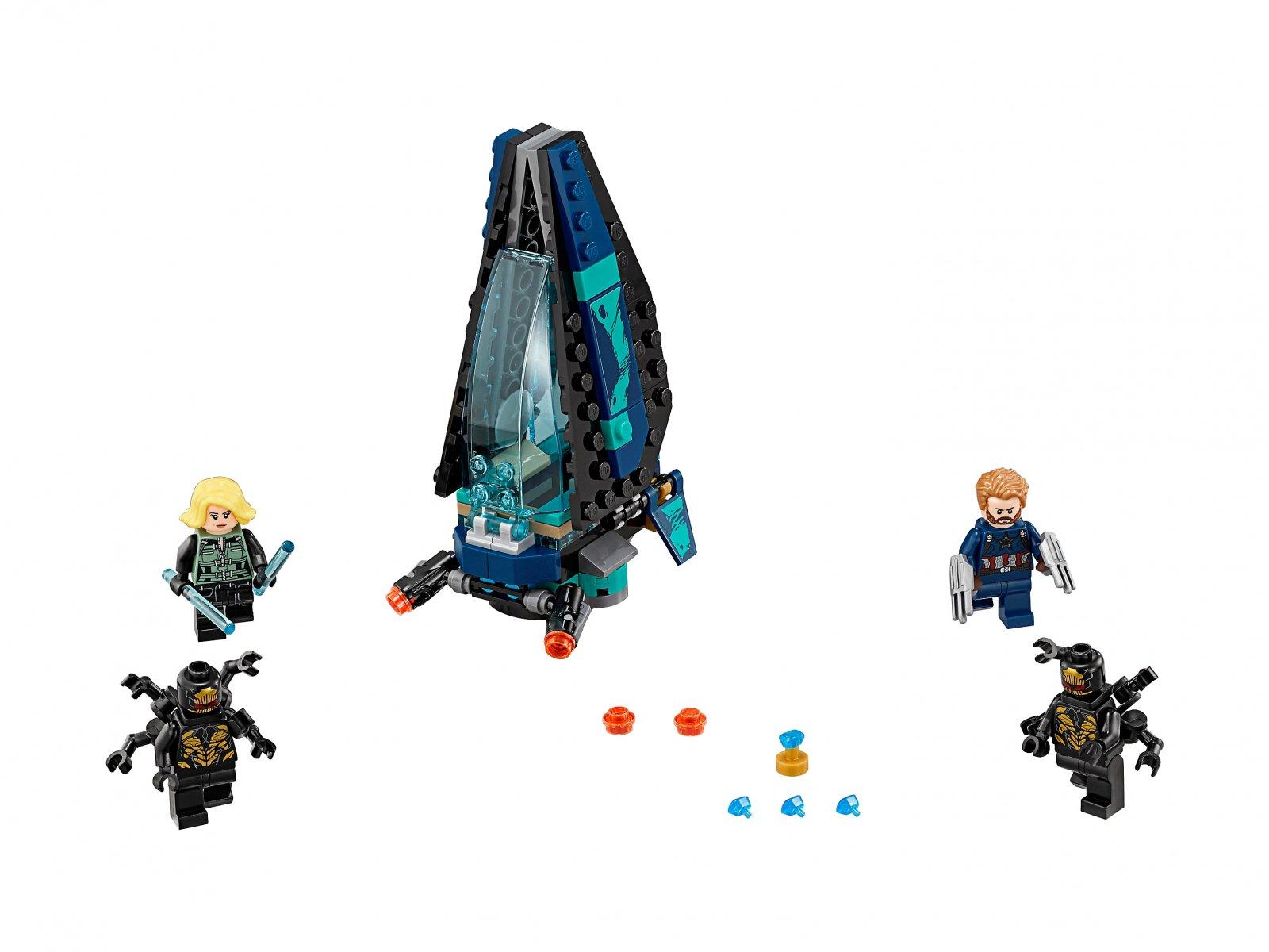 LEGO Marvel Super Heroes Atak statku Outriderów