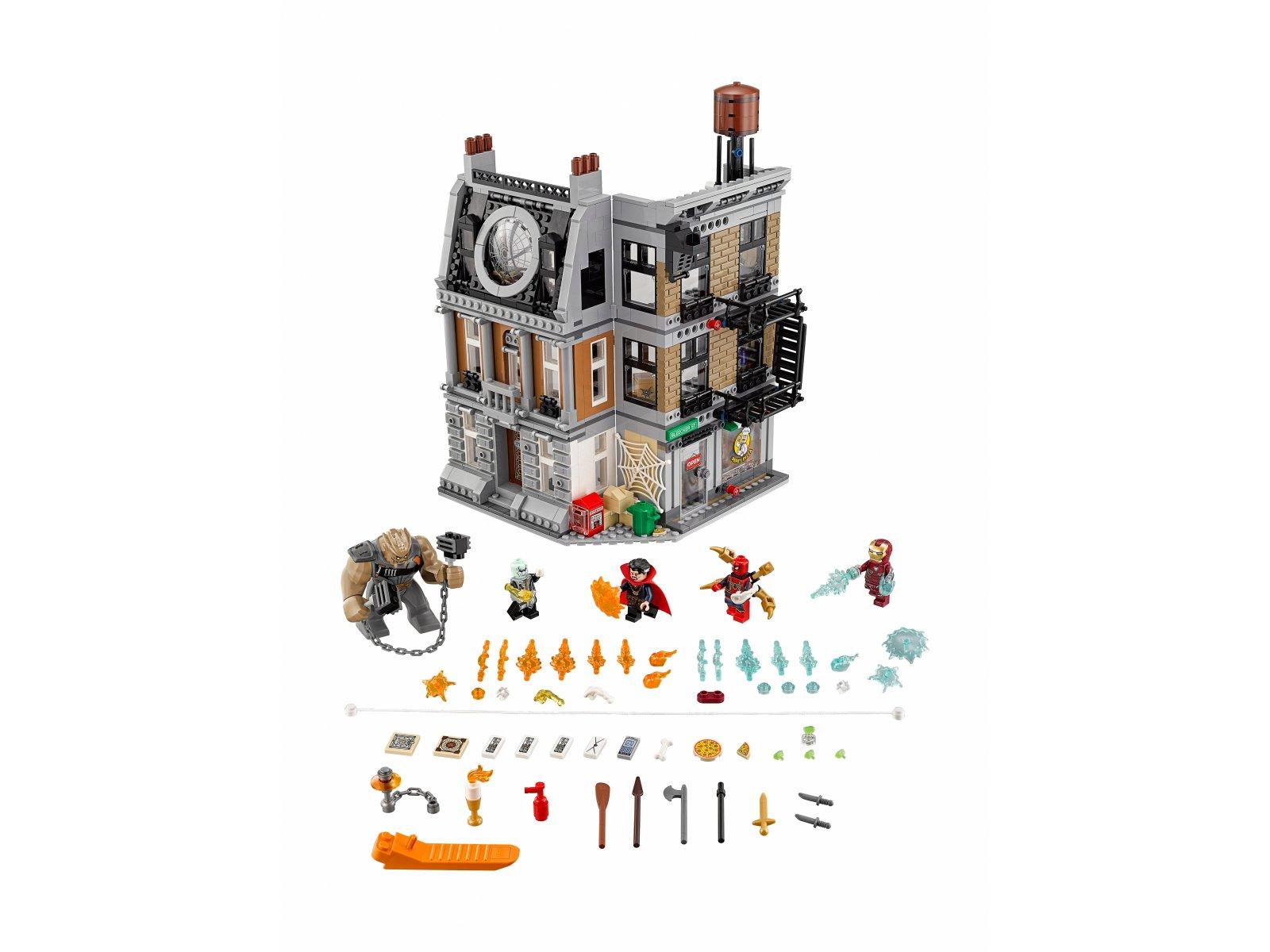 LEGO 76108 Marvel Super Heroes Starcie w Sanctum Sanctorum