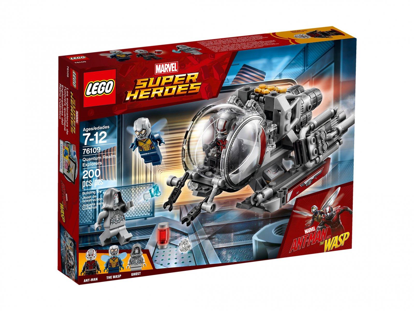 LEGO 76109 Badacze kwantowej krainy