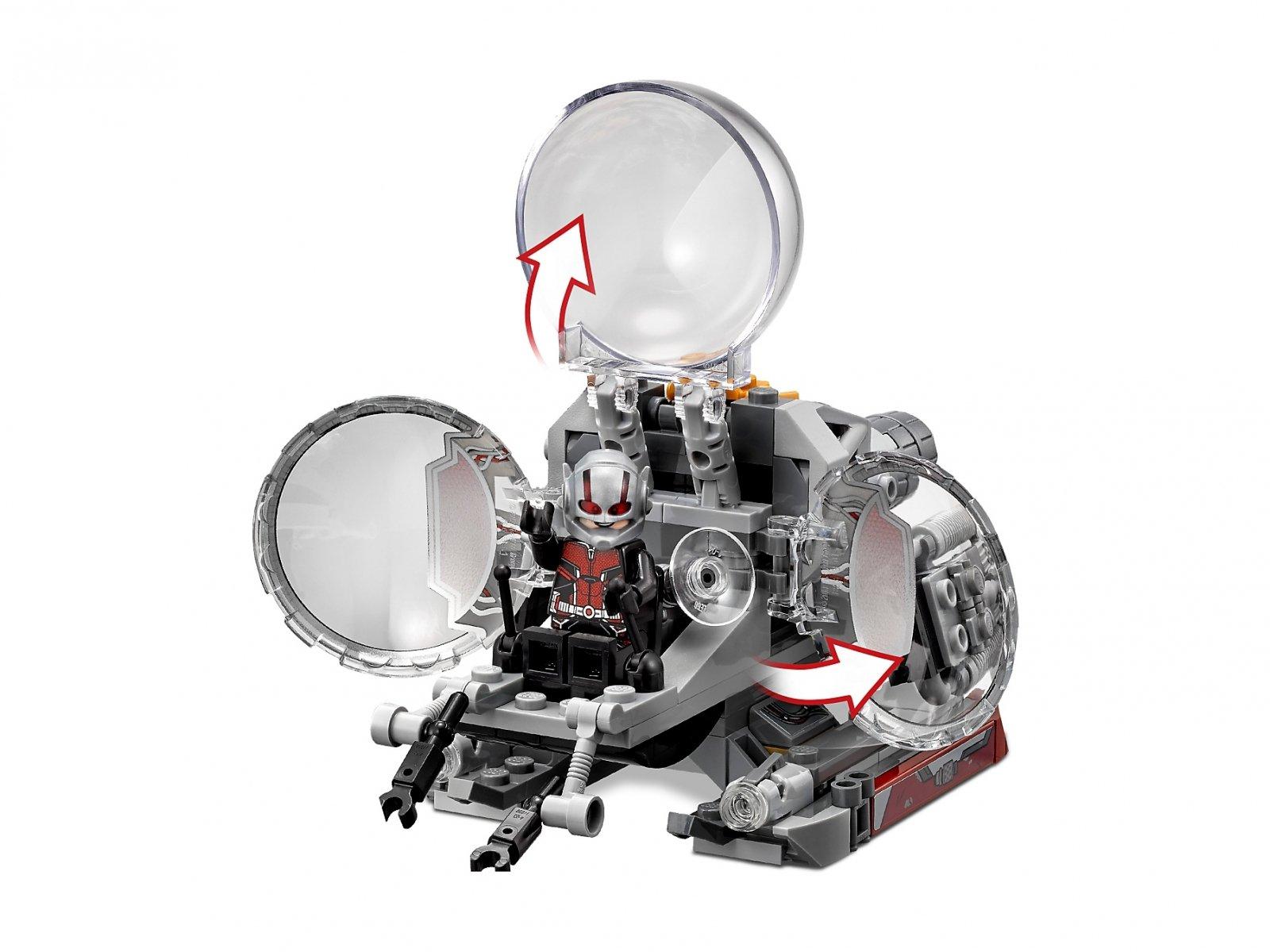 LEGO Marvel Super Heroes Badacze kwantowej krainy 76109