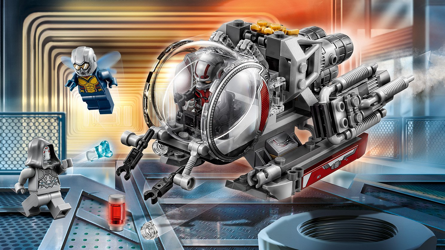 LEGO Marvel Super Heroes Badacze kwantowej krainy