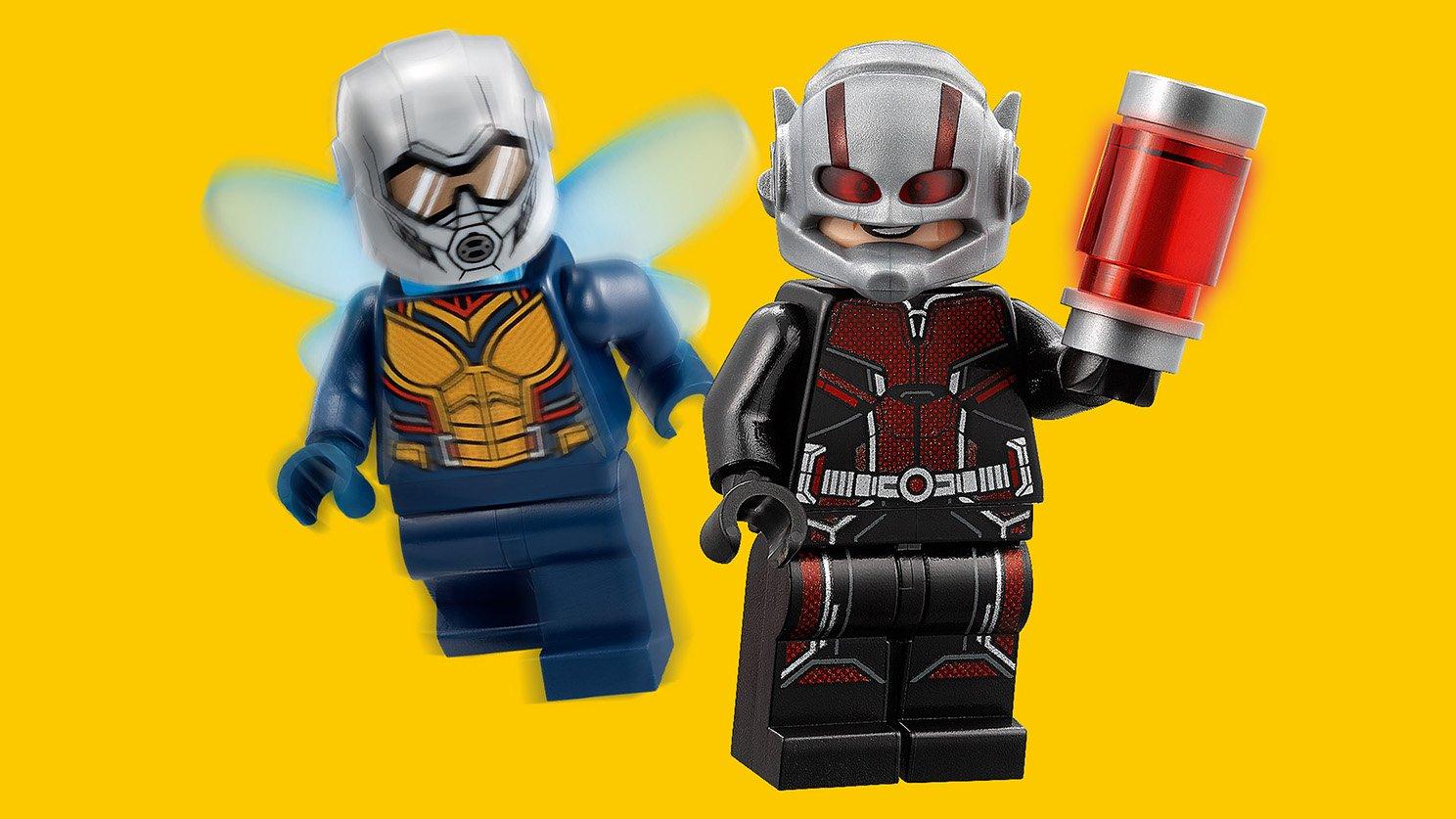 LEGO 76109 Marvel Super Heroes Badacze kwantowej krainy