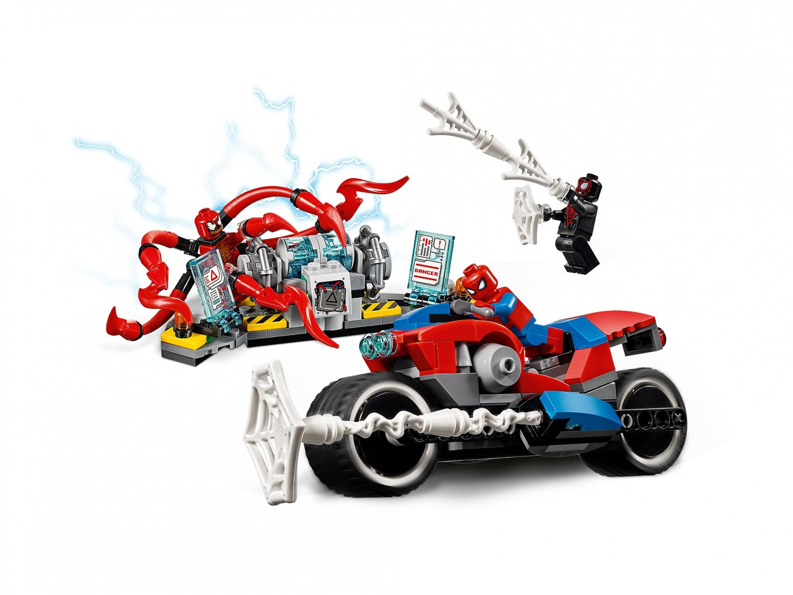 LEGO Marvel Super Heroes Pościg motocyklowy Spider-Mana