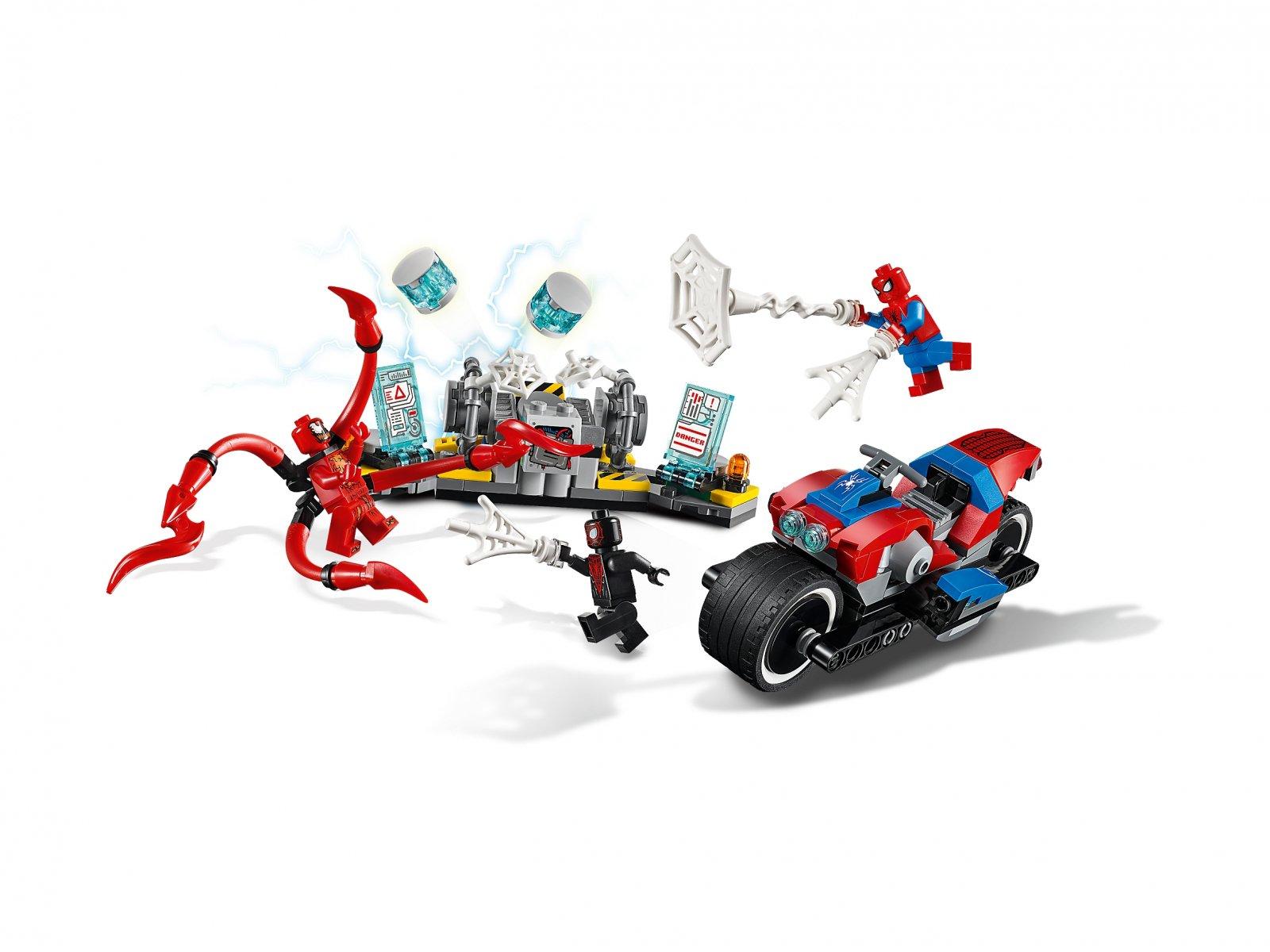 LEGO 76113 Marvel Super Heroes Pościg motocyklowy Spider-Mana