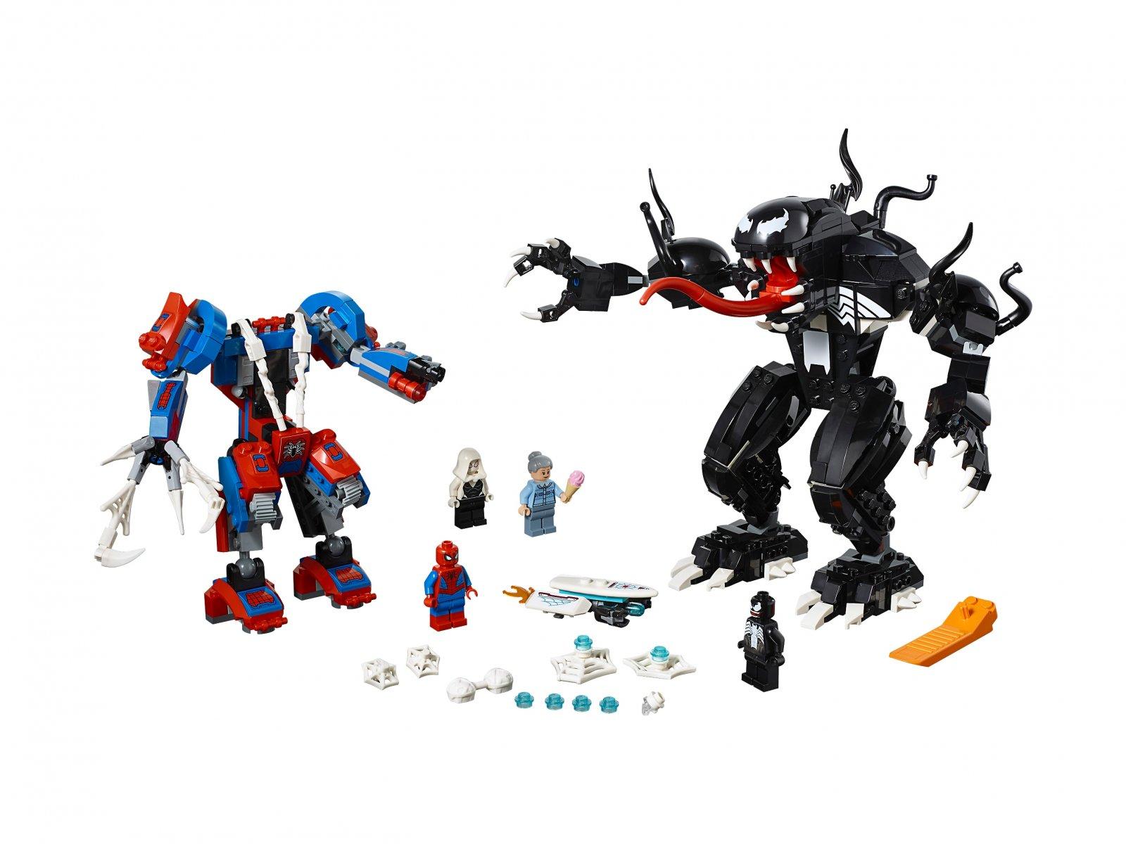 LEGO 76115 Pajęczy Mech kontra Venom
