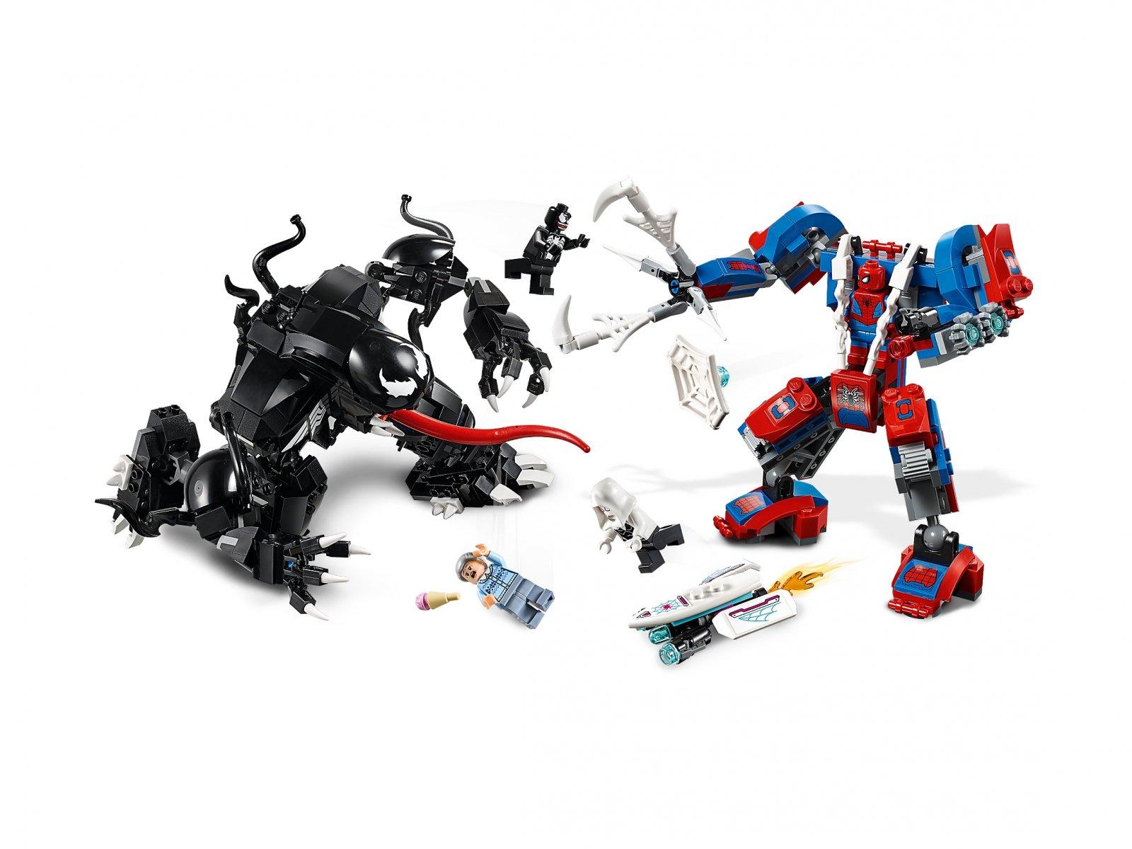 LEGO 76115 Marvel Super Heroes Pajęczy Mech kontra Venom