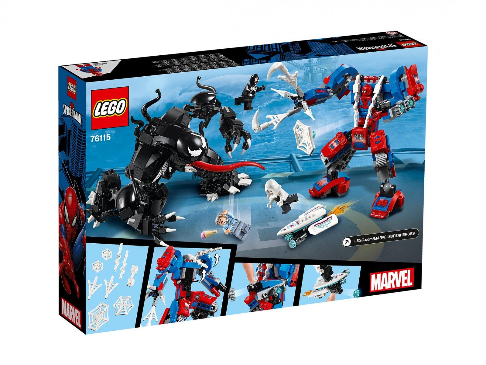 LEGO Marvel Super Heroes 76115 Pajęczy Mech kontra Venom