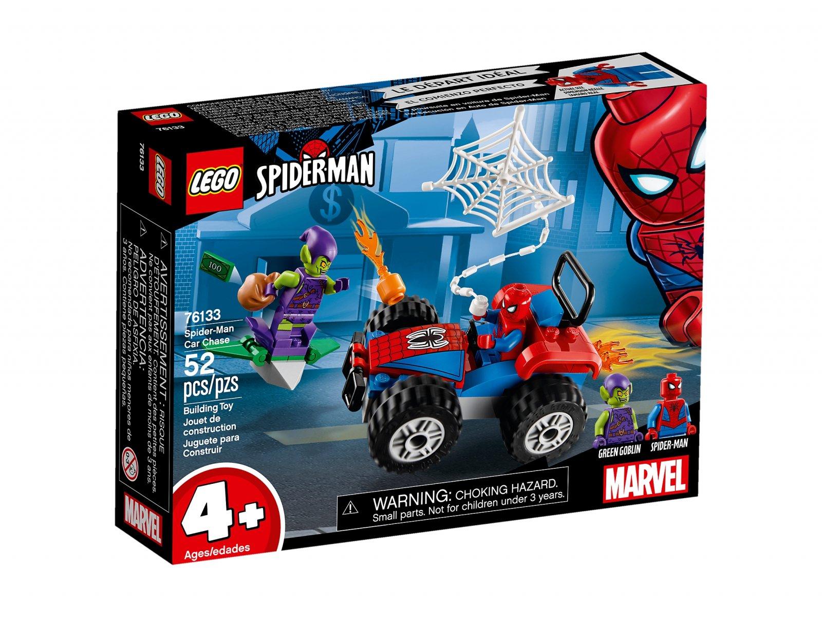 LEGO Marvel Super Heroes Pościg samochodowy Spider-Mana
