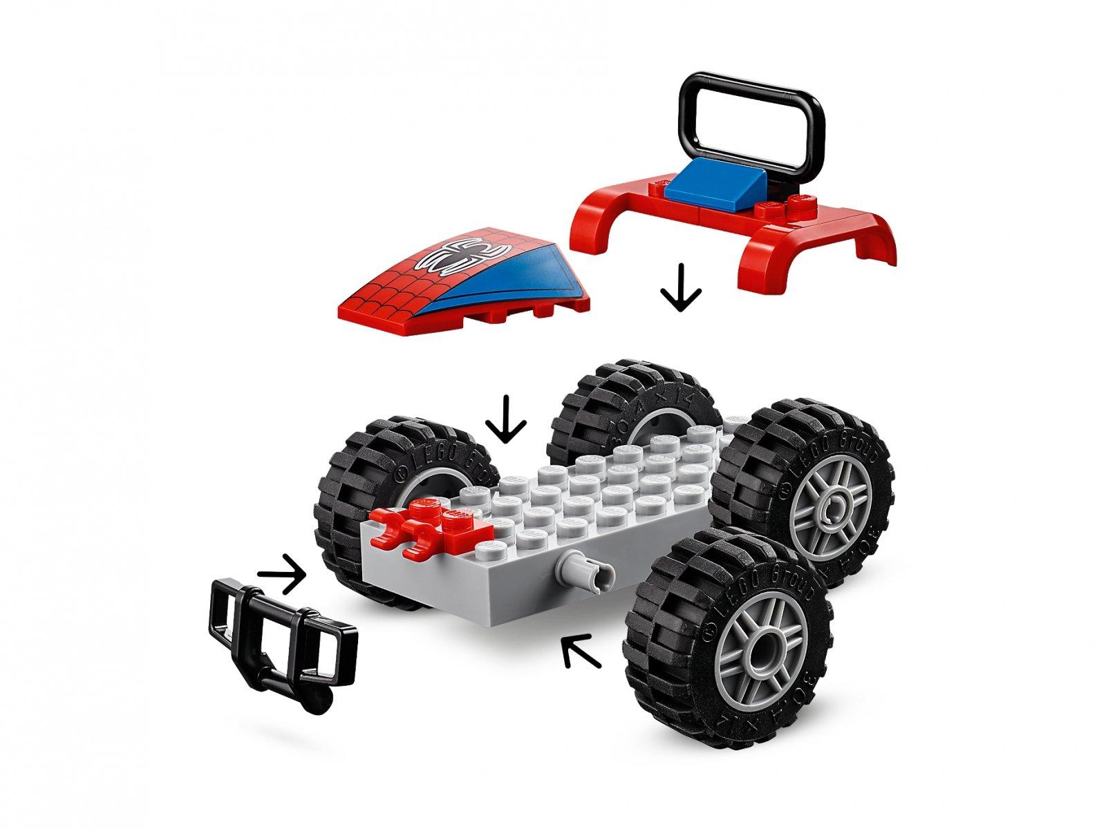 LEGO Marvel Super Heroes 76133 Pościg samochodowy Spider-Mana