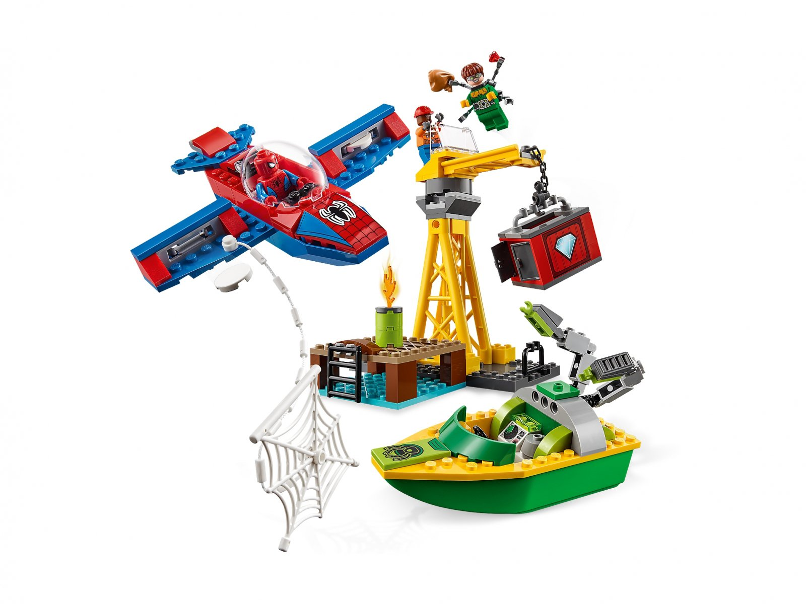 LEGO Marvel Super Heroes Doktor Octopus - skok na diamenty 76134