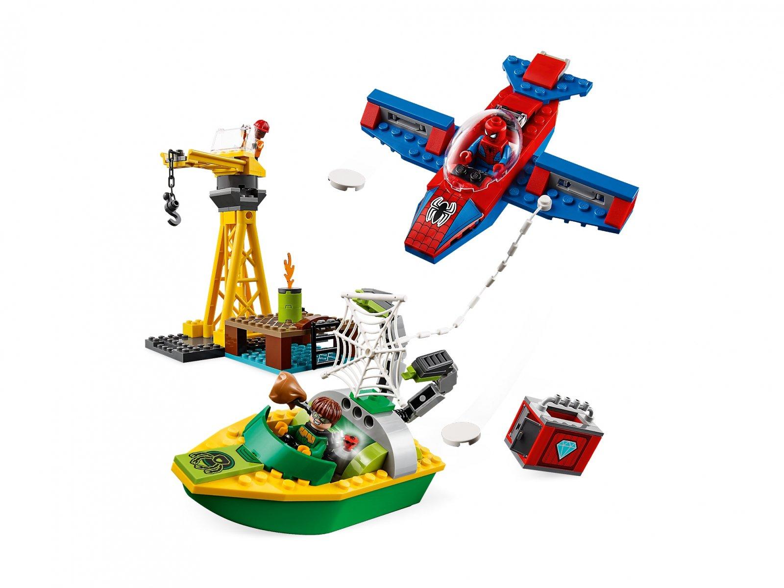 LEGO Marvel Super Heroes Doktor Octopus - skok na diamenty