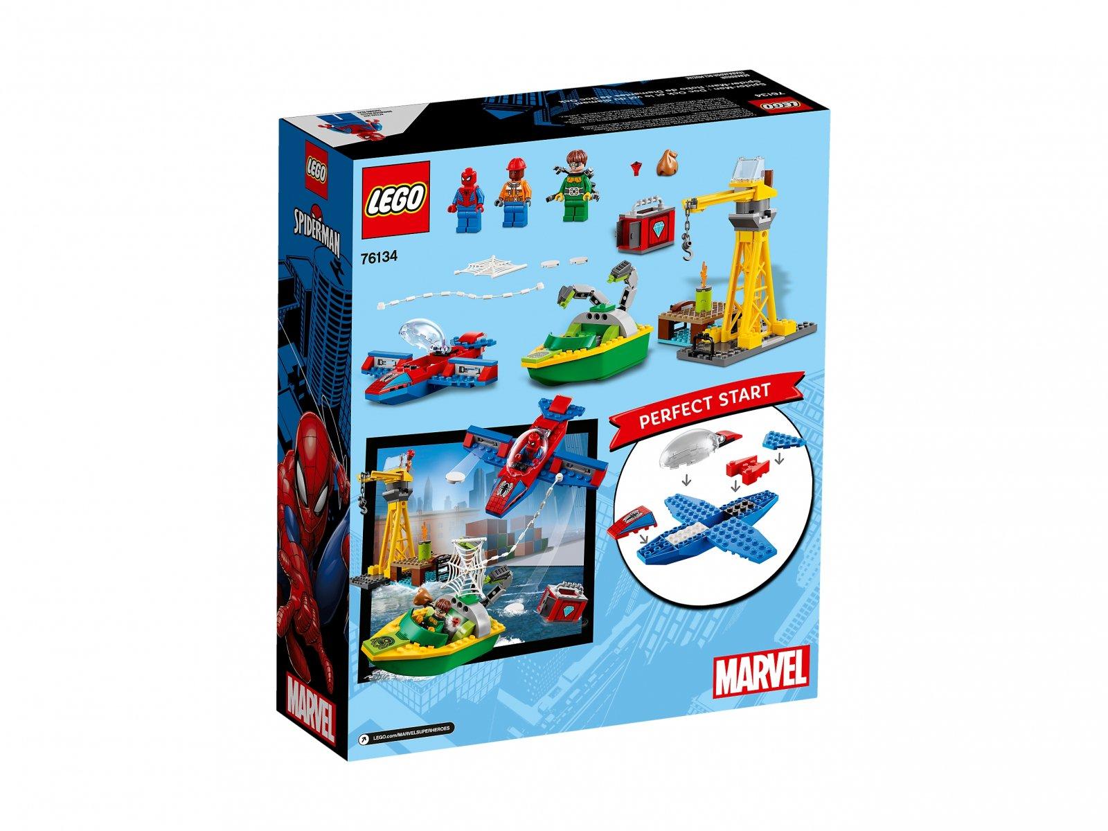 LEGO Marvel Super Heroes 76134 Doktor Octopus - skok na diamenty