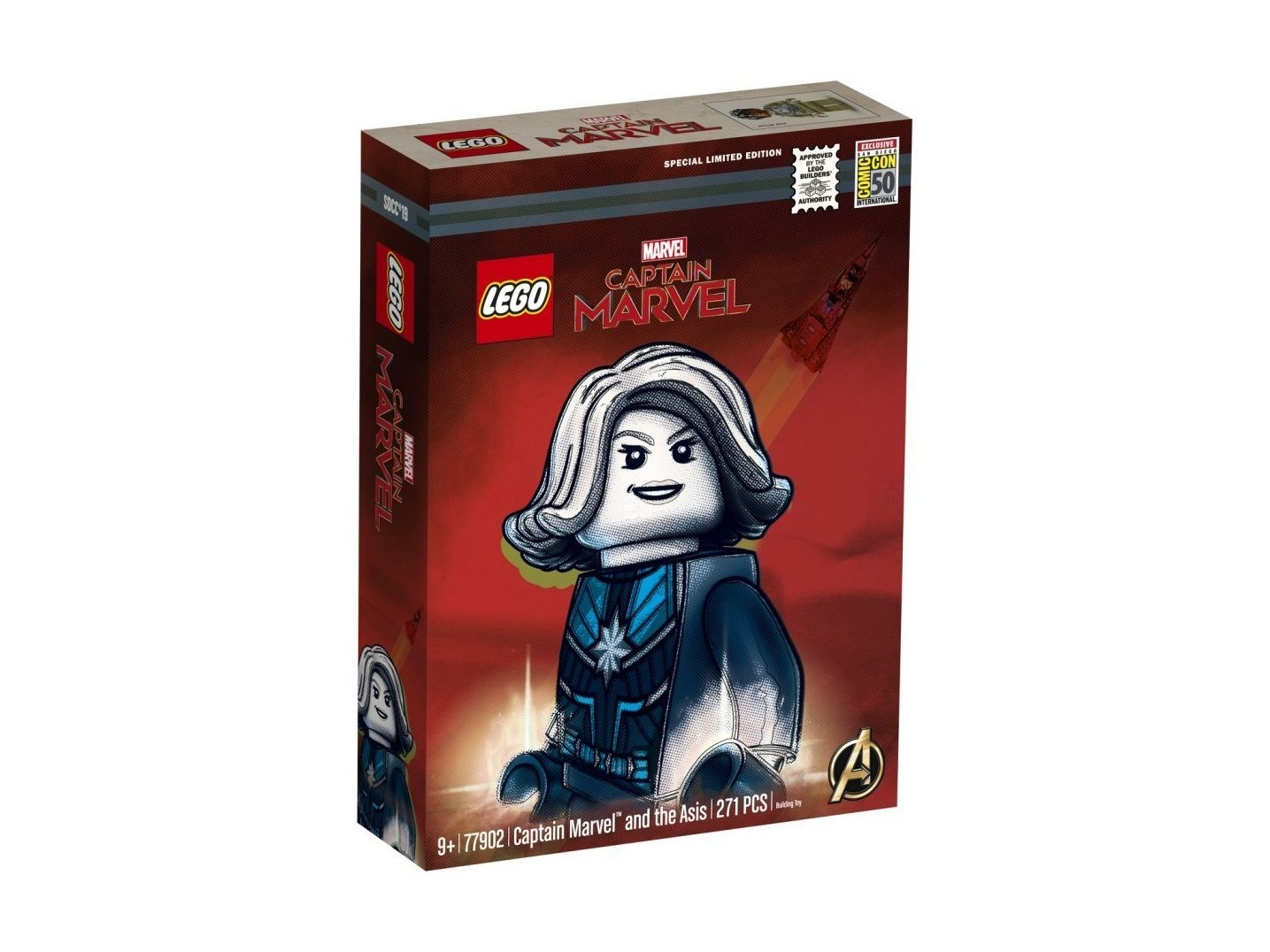 LEGO 77902 Marvel Super Heroes Captain Marvel™ and the Asis