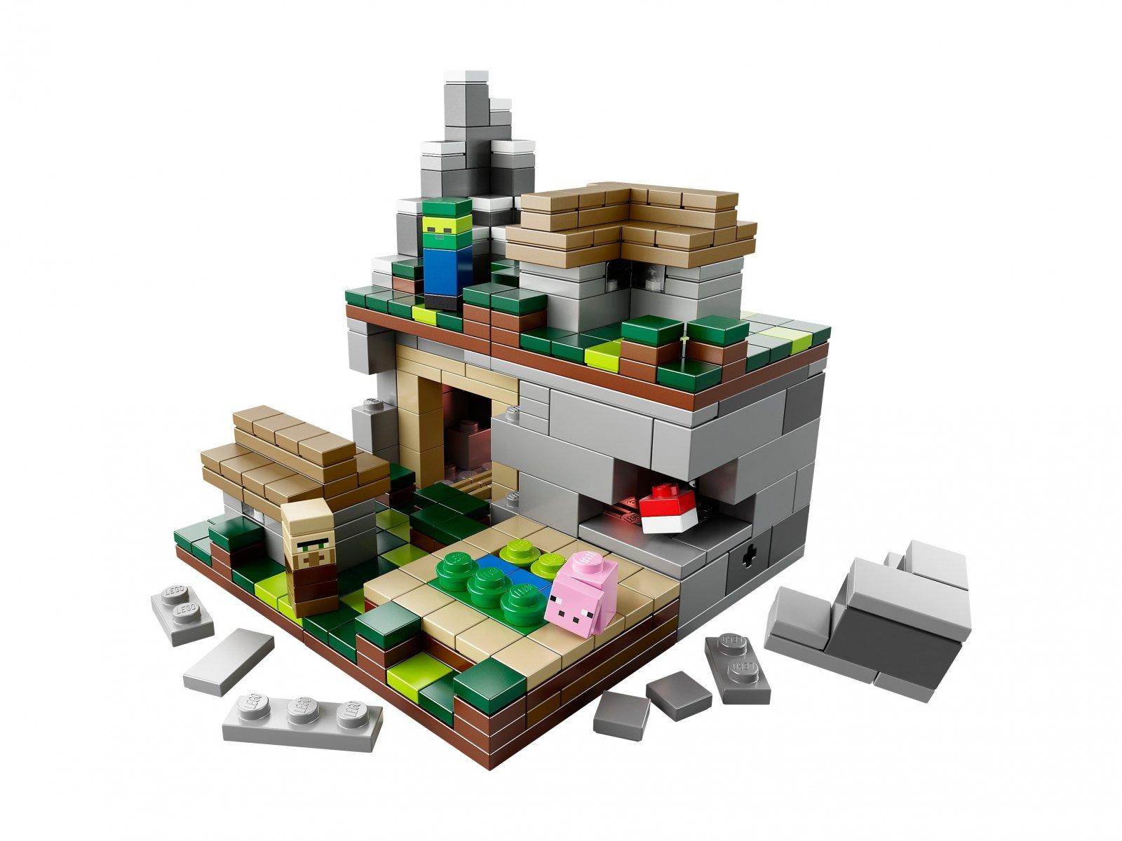 Lego 21105 Minecraft Mikroświat Wioska Zklockówpl