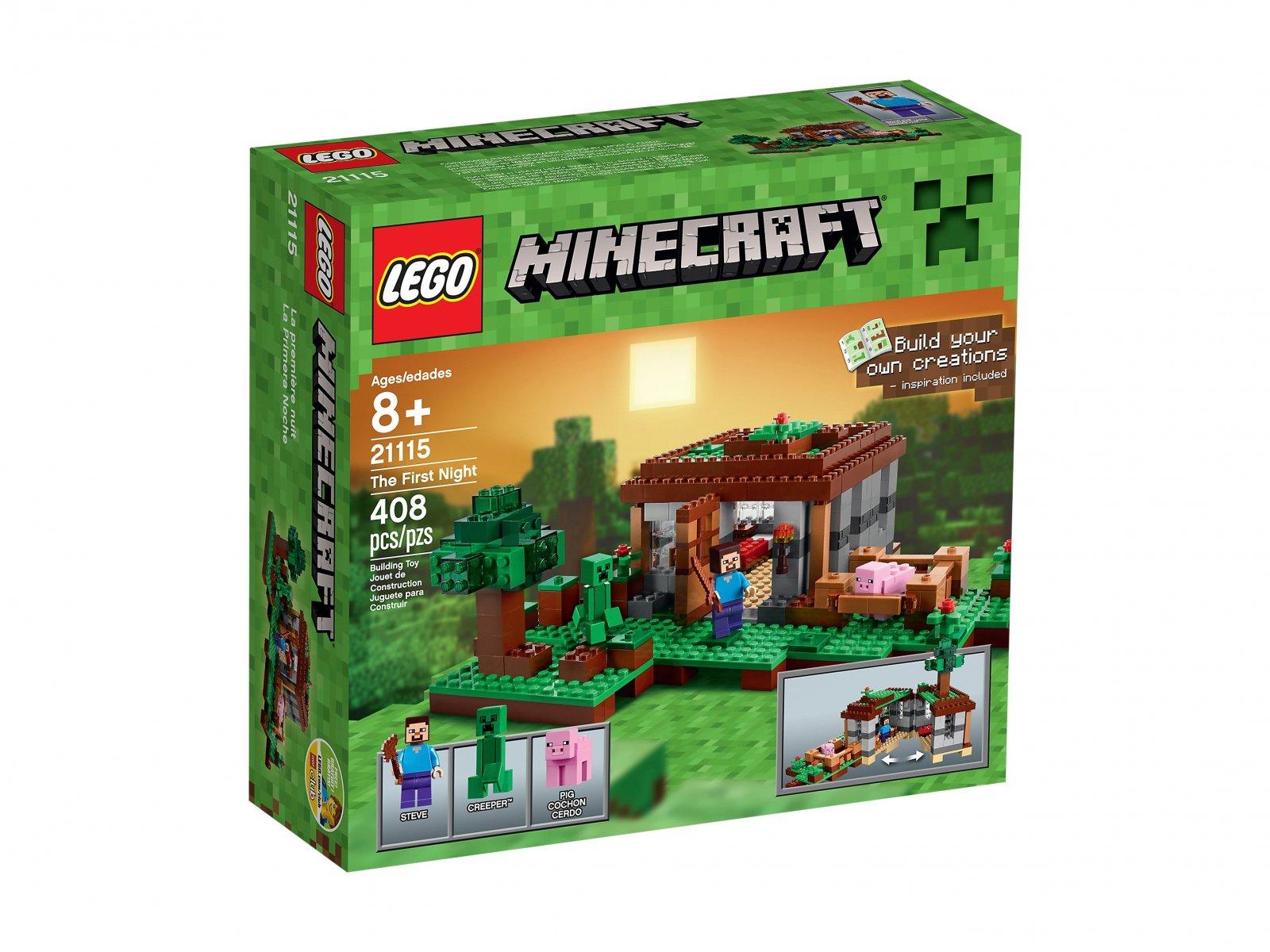 LEGO 21115 Minecraft Pierwsza noc