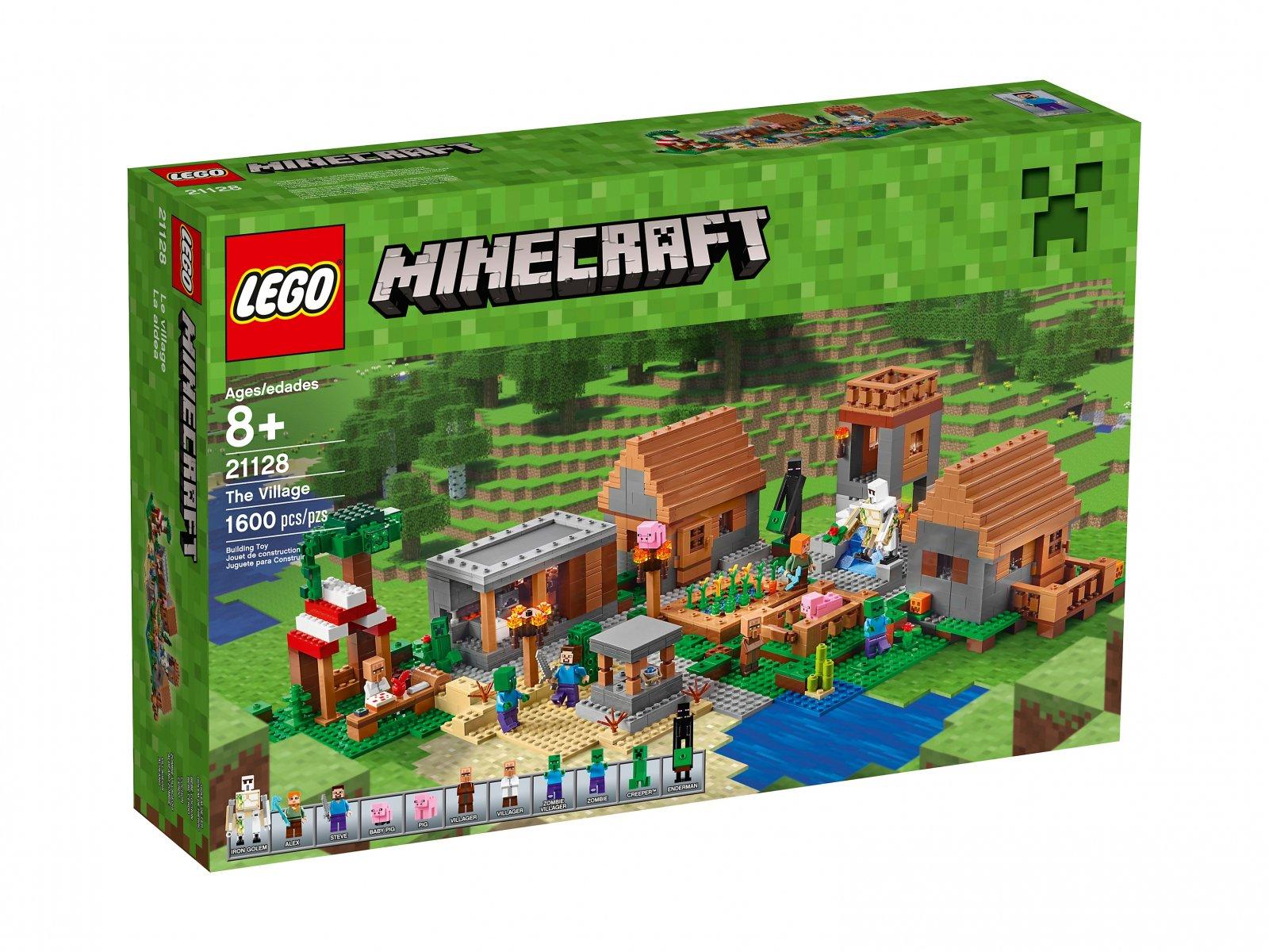 LEGO Minecraft 21128 Wioska