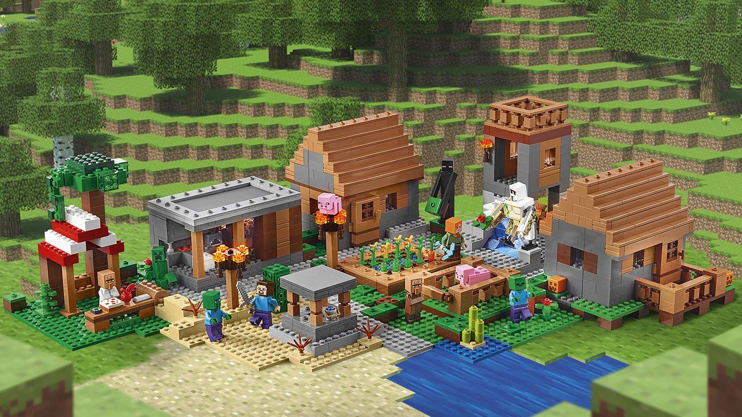 LEGO Minecraft Wioska 21128