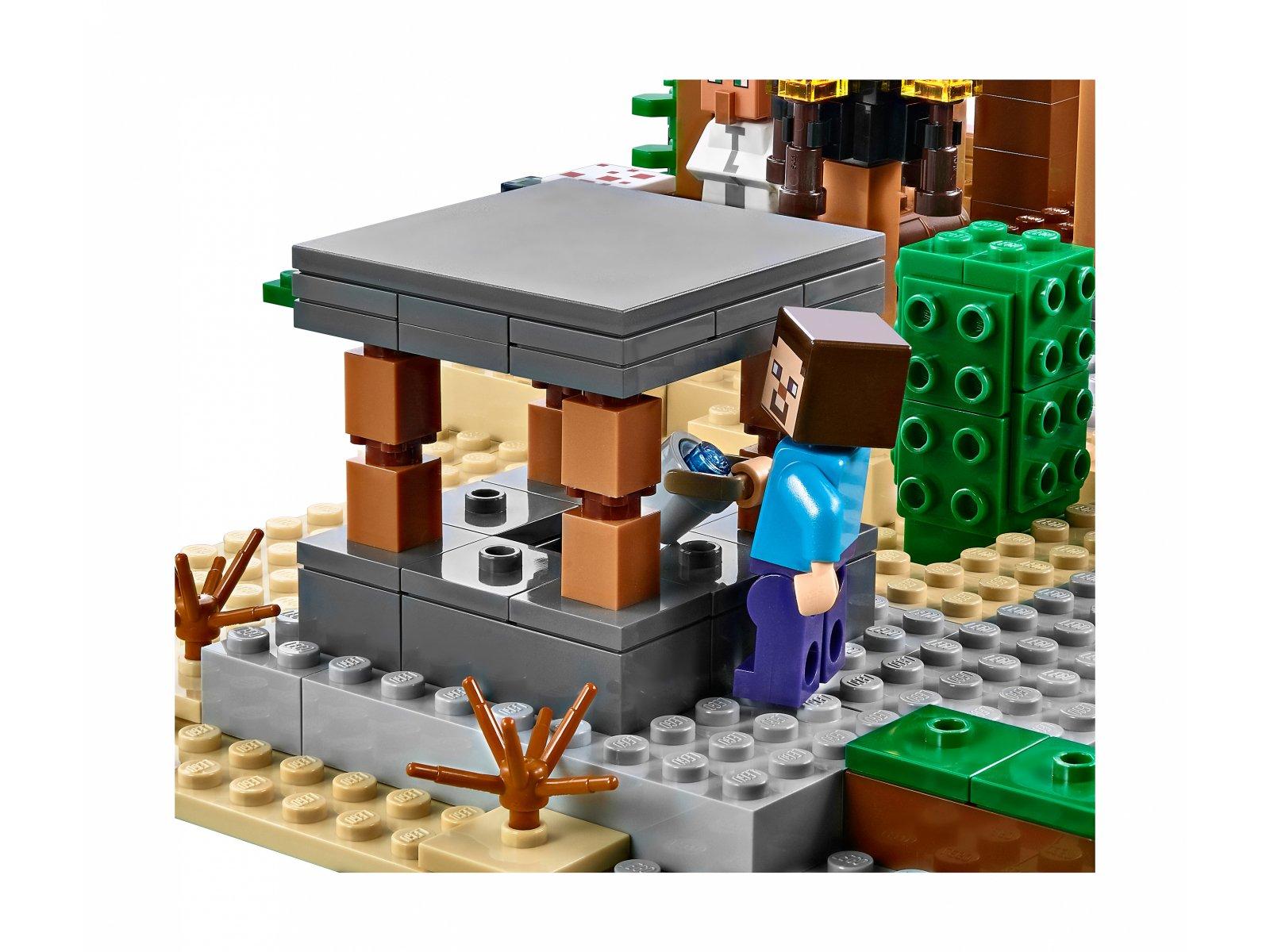 LEGO 21128 Minecraft Wioska