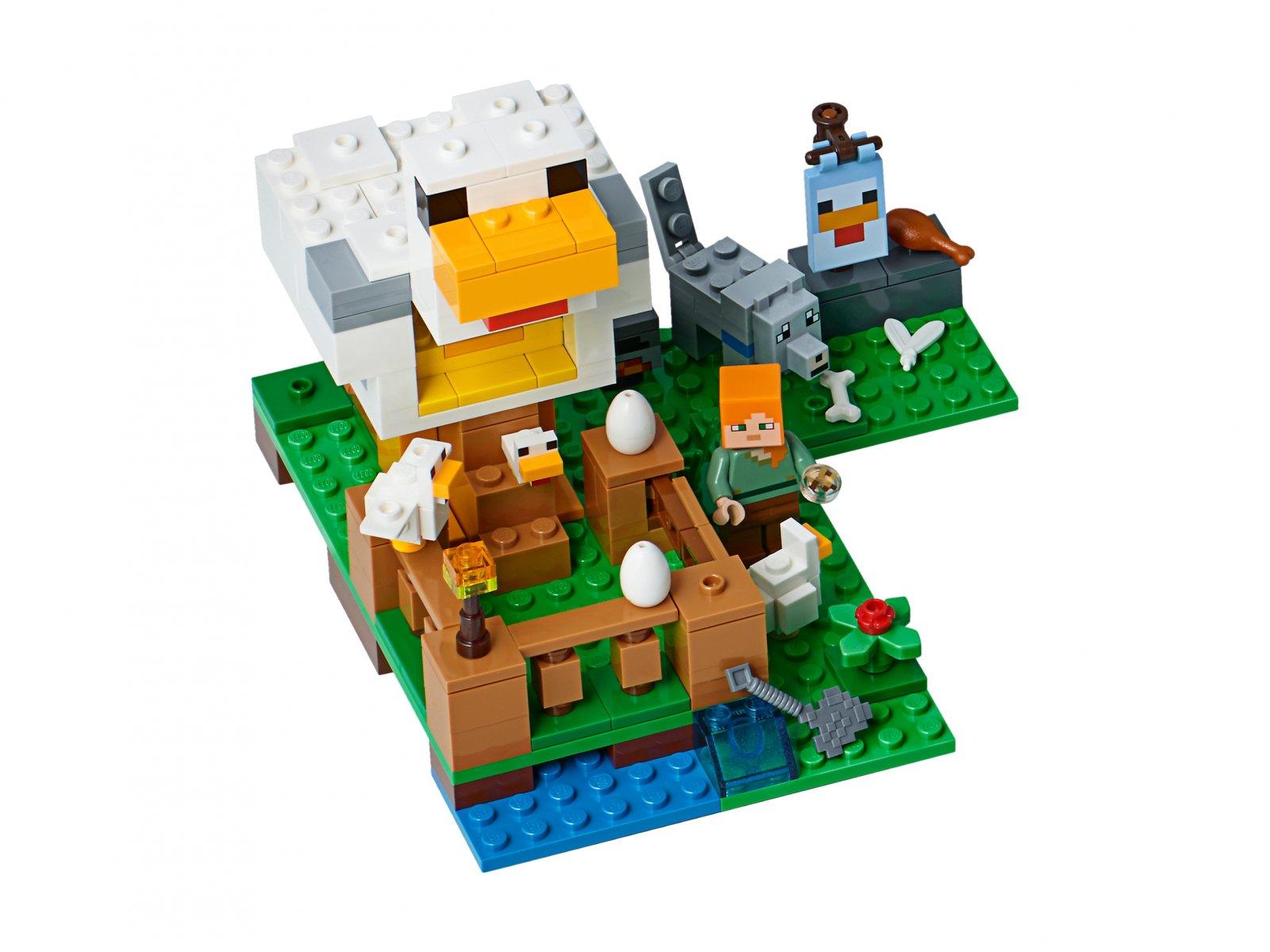 LEGO 21140 Minecraft™ Kurnik