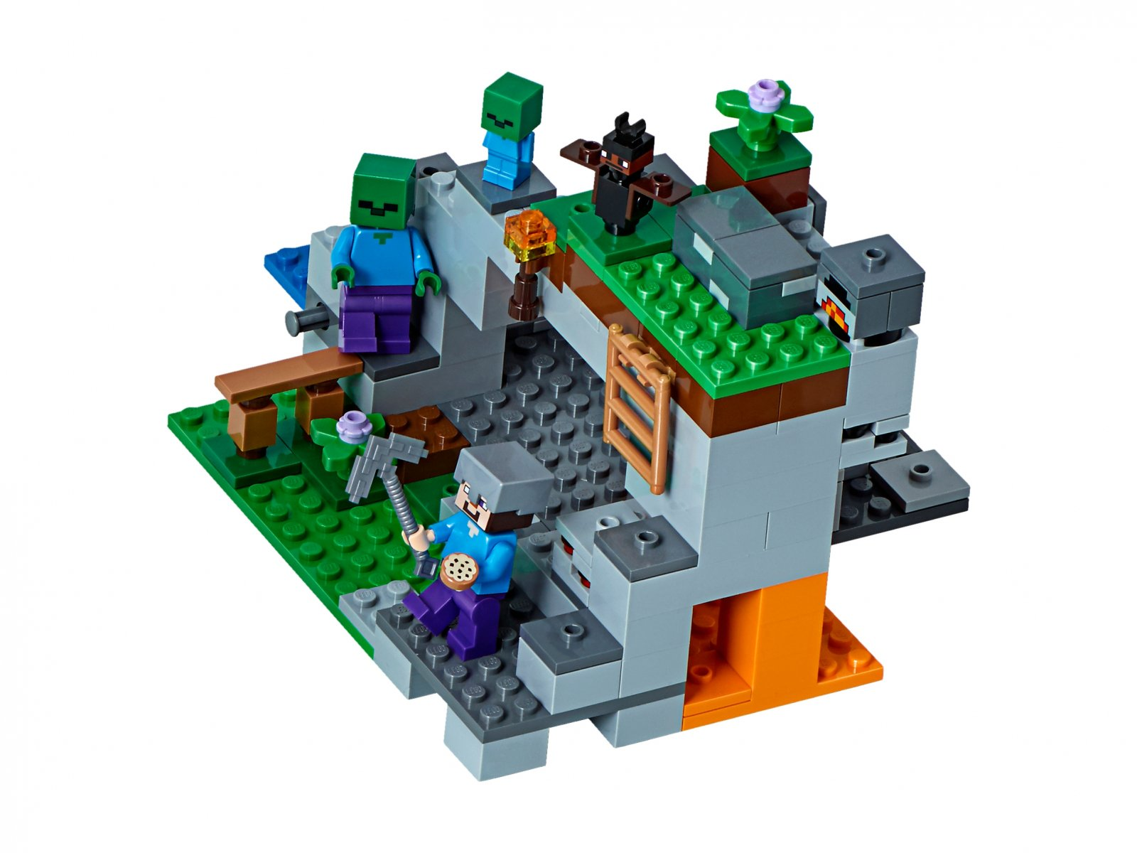 f2aaa433c LEGO 21141 Minecraft Jaskinia zombie | zklocków.pl