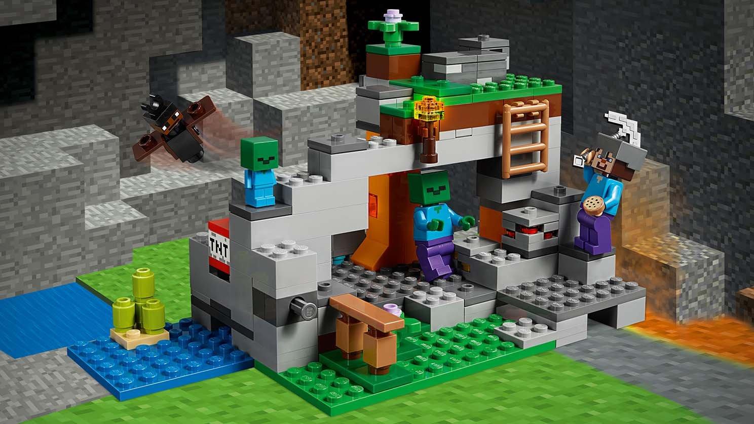 LEGO Minecraft™ Jaskinia zombie