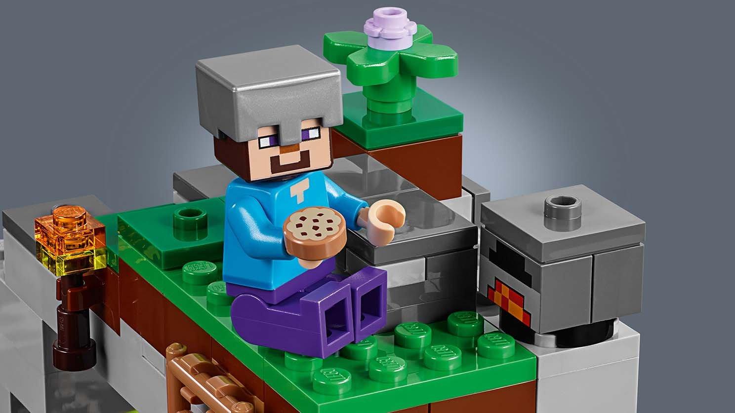 LEGO 21141 Minecraft Jaskinia zombie   zklocków.pl