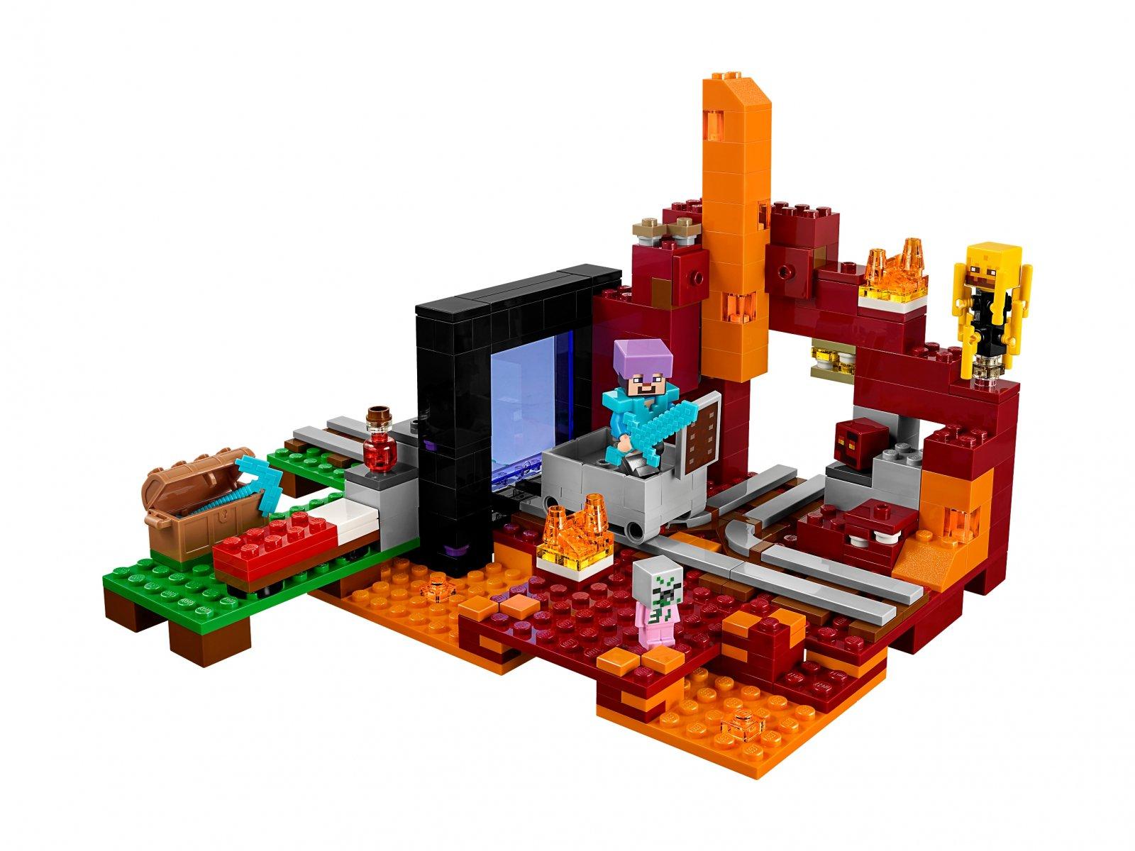 LEGO 21143 Minecraft Portal do Netheru