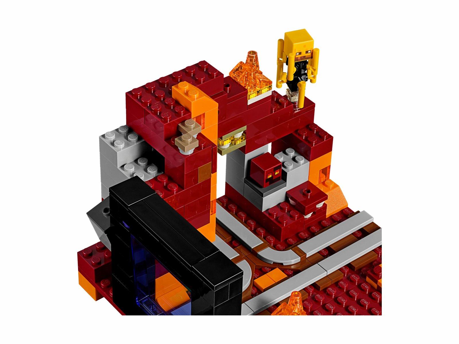 LEGO Minecraft Portal do Netheru 21143