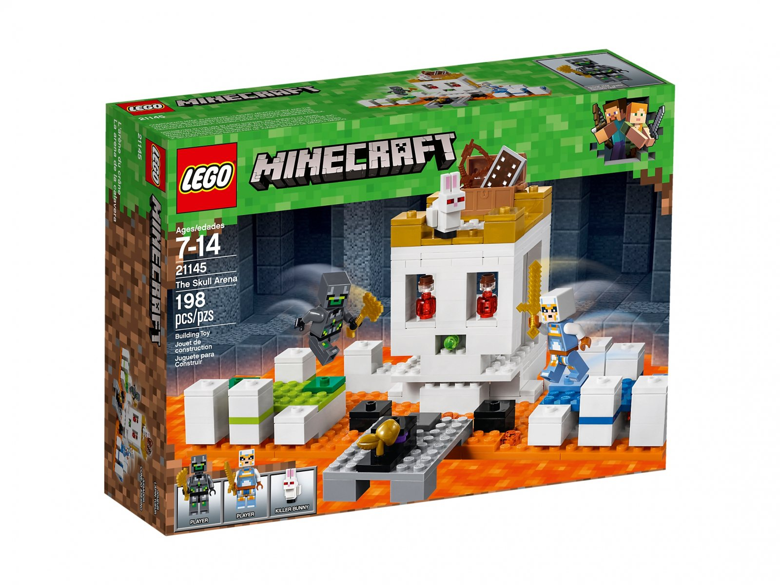 LEGO Minecraft™ Czaszkowa arena