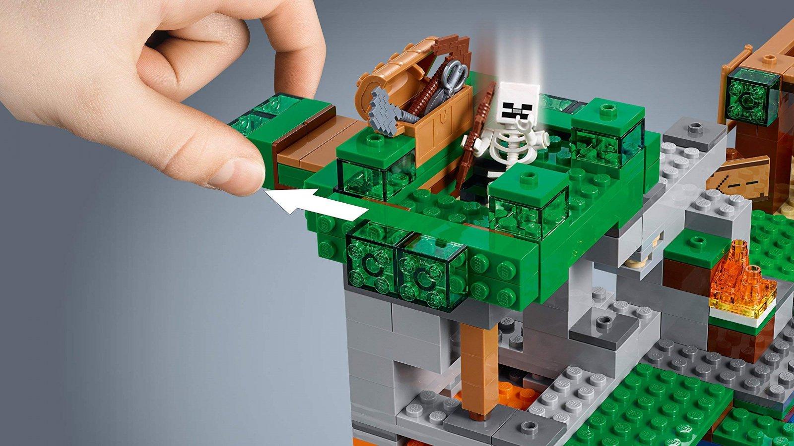 LEGO 21146 Minecraft™ Atak szkieletów