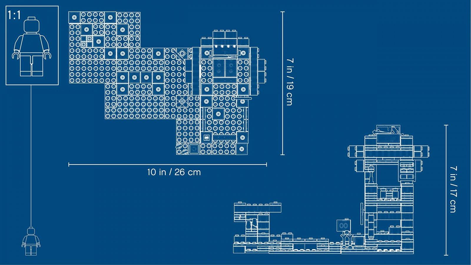 LEGO Minecraft™ Atak szkieletów 21146