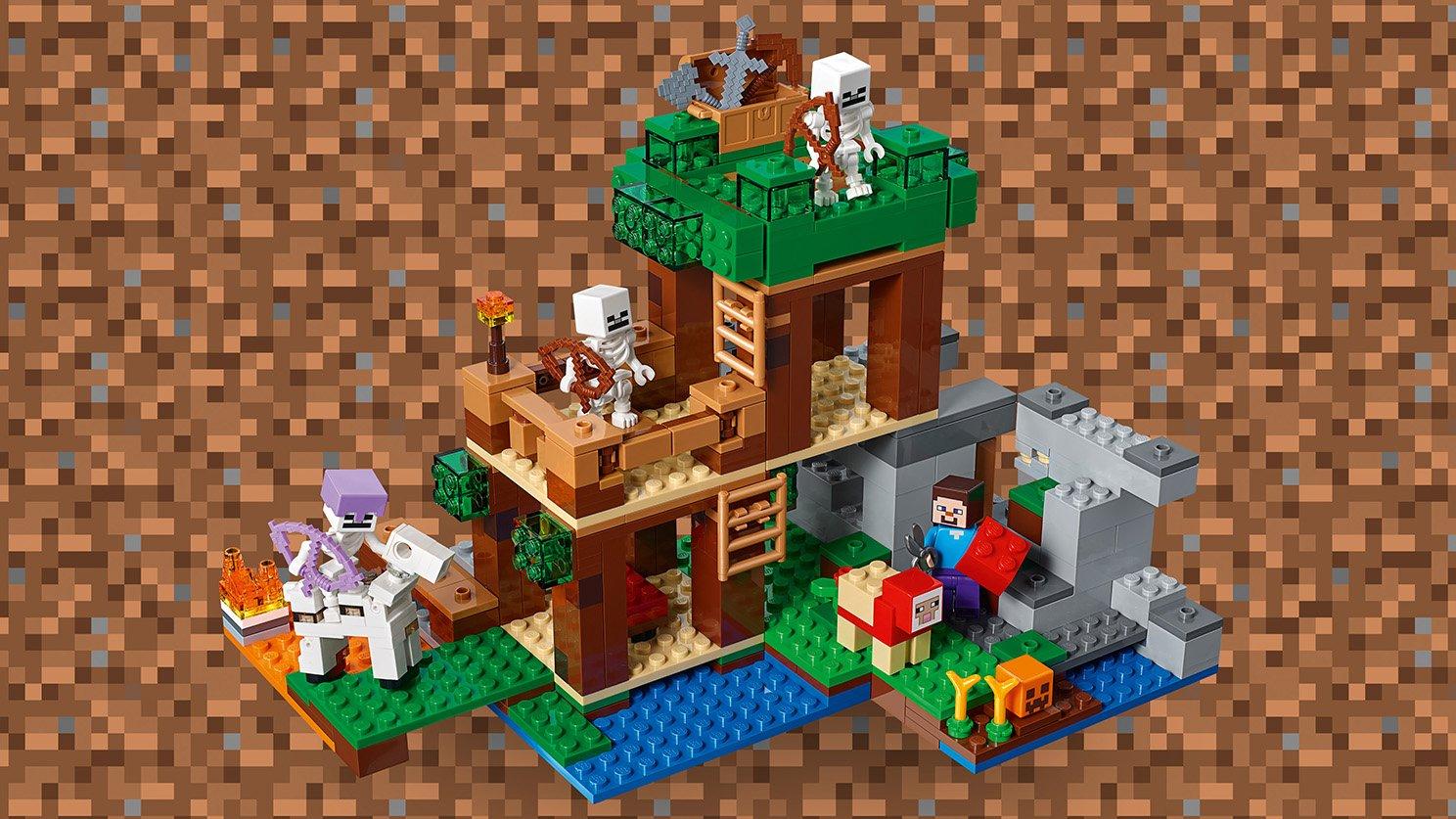 LEGO Minecraft™ 21146 Atak szkieletów