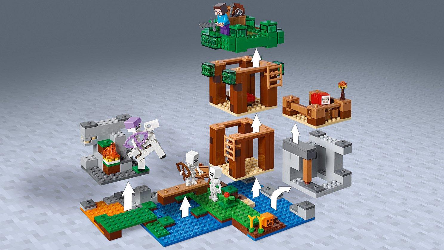 LEGO Minecraft™ Atak szkieletów