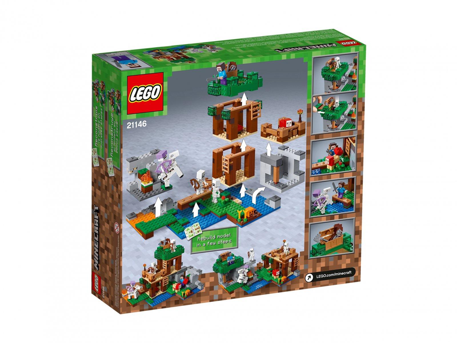 LEGO 21146 Atak szkieletów
