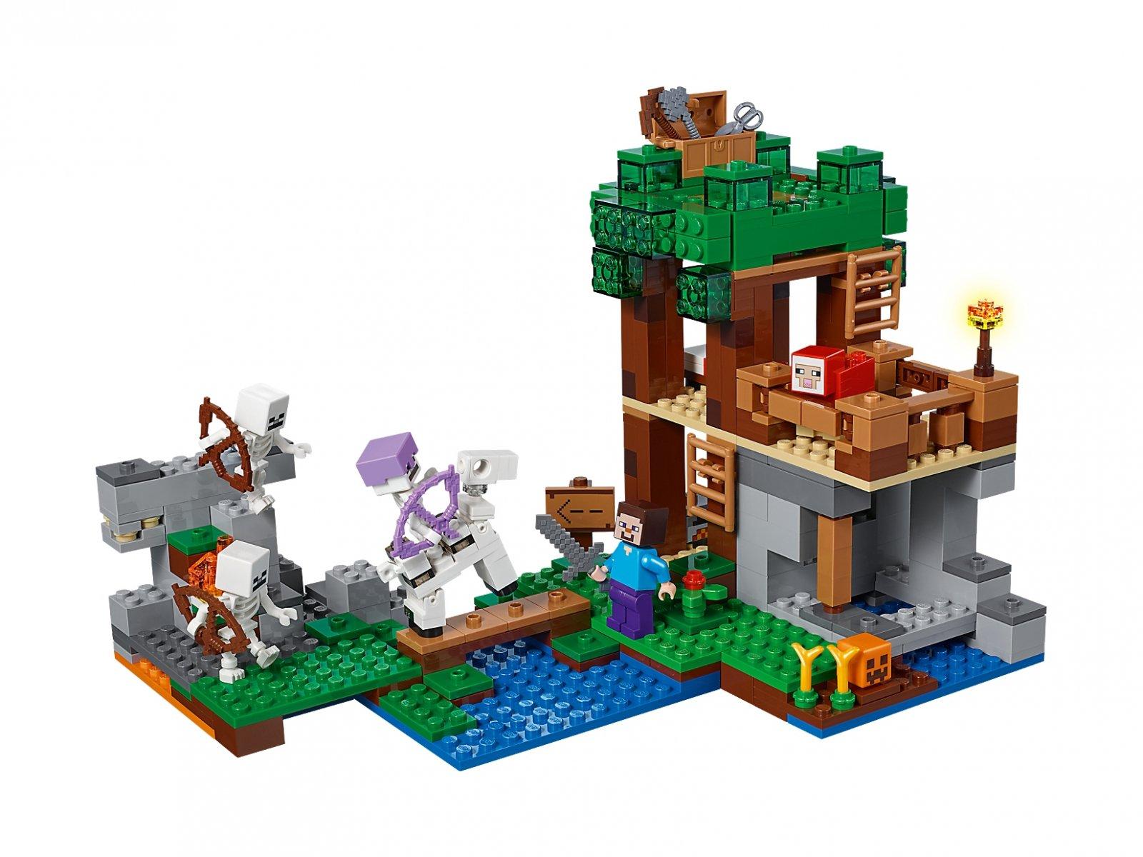 LEGO 21146 Minecraft Atak szkieletów | zklocków.pl