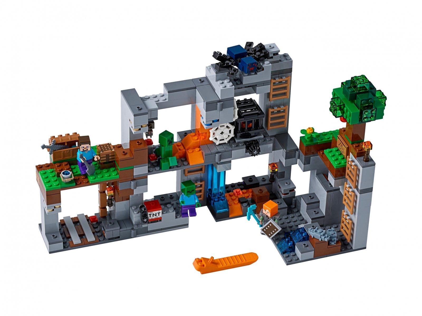 LEGO 21147 Przygody na skale macierzystej
