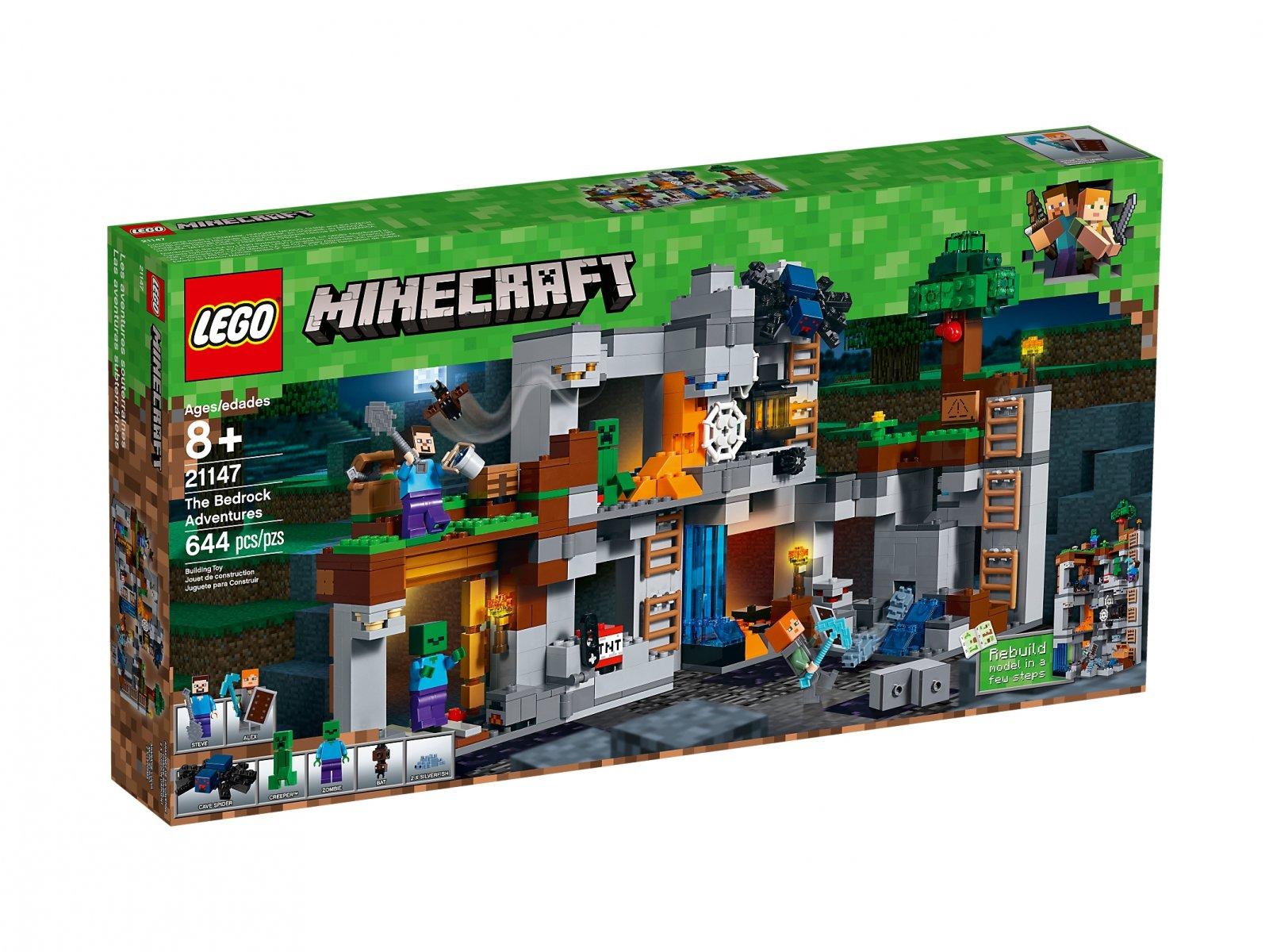 LEGO Minecraft™ Przygody na skale macierzystej 21147