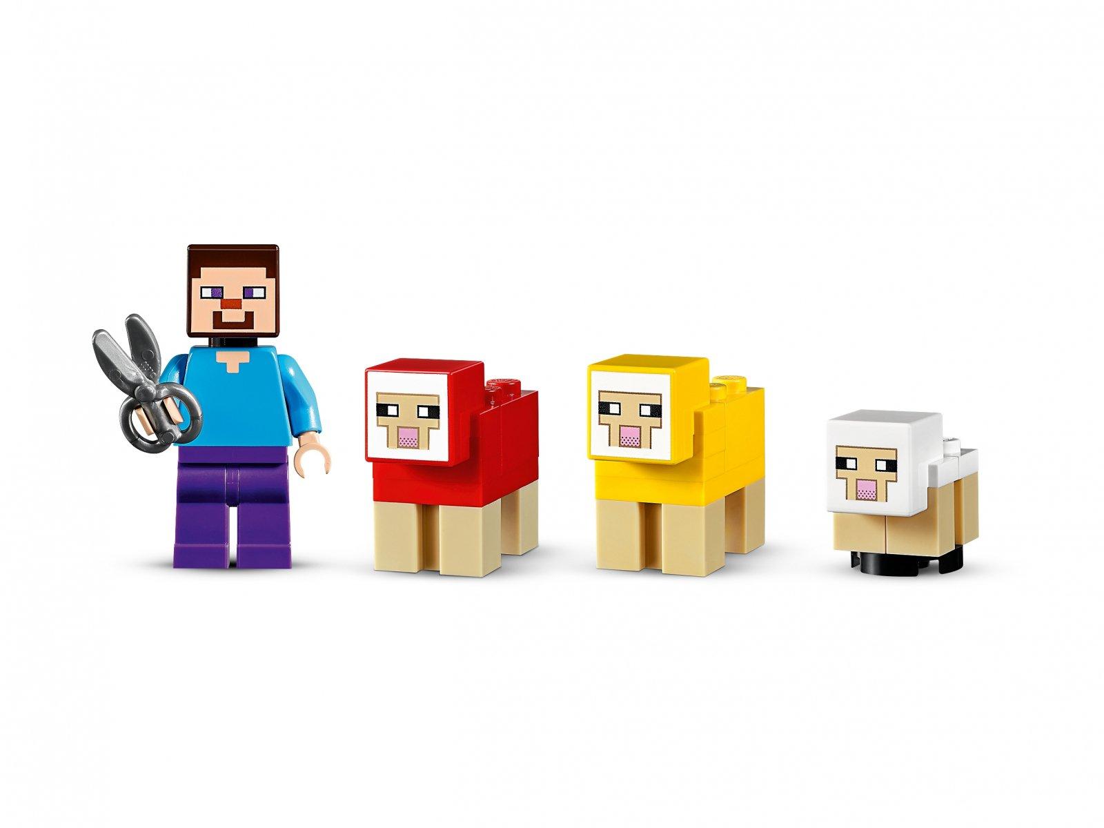 LEGO 21153 Minecraft Hodowla owiec