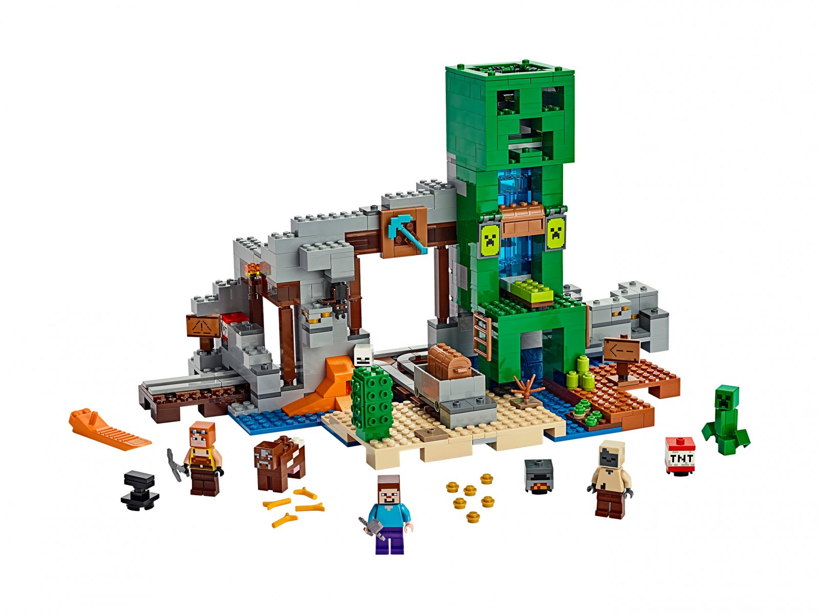 LEGO Minecraft 21155 Kopalnia Creeperów™