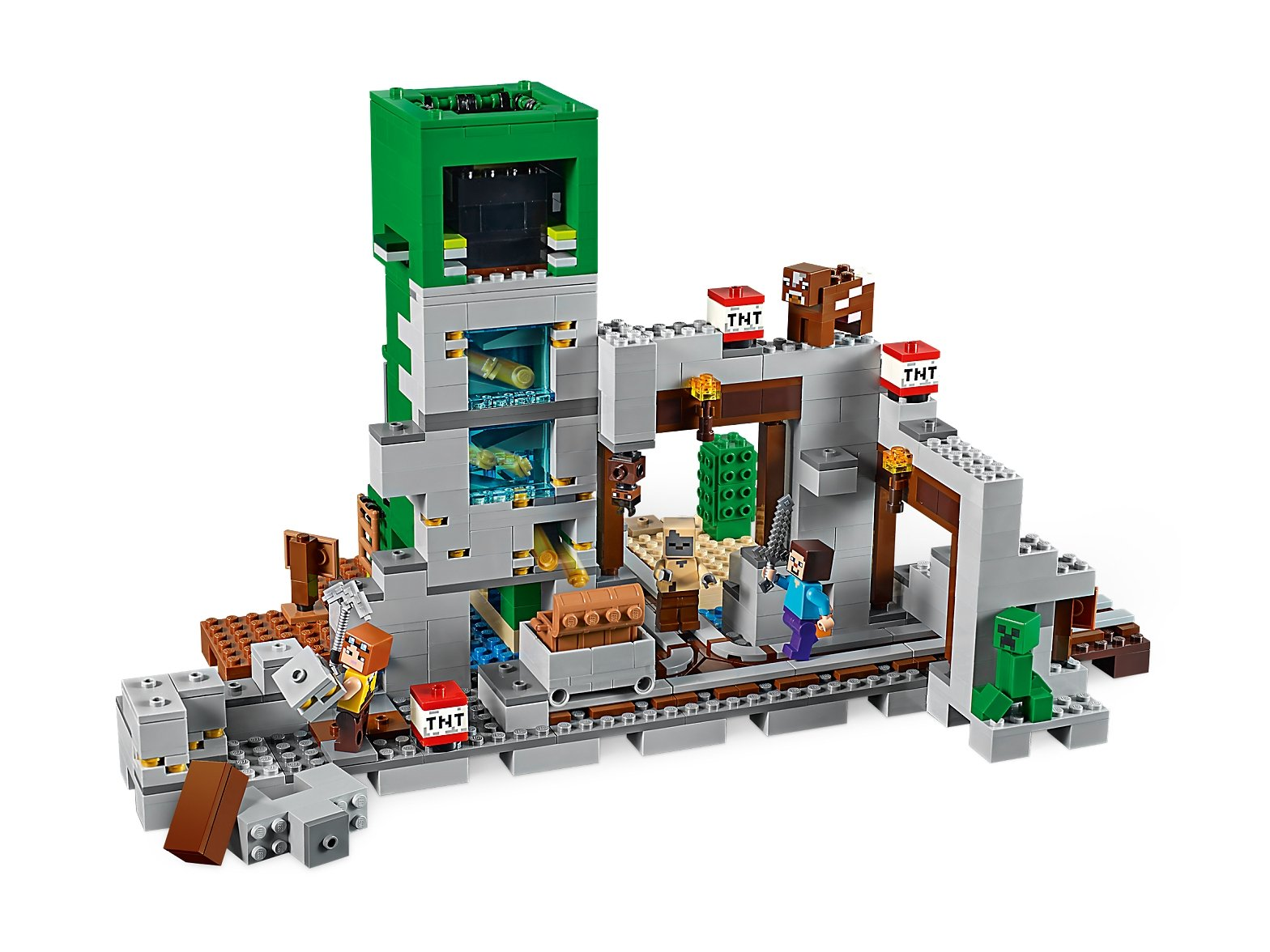 LEGO Minecraft™ Kopalnia Creeperów™ 21155
