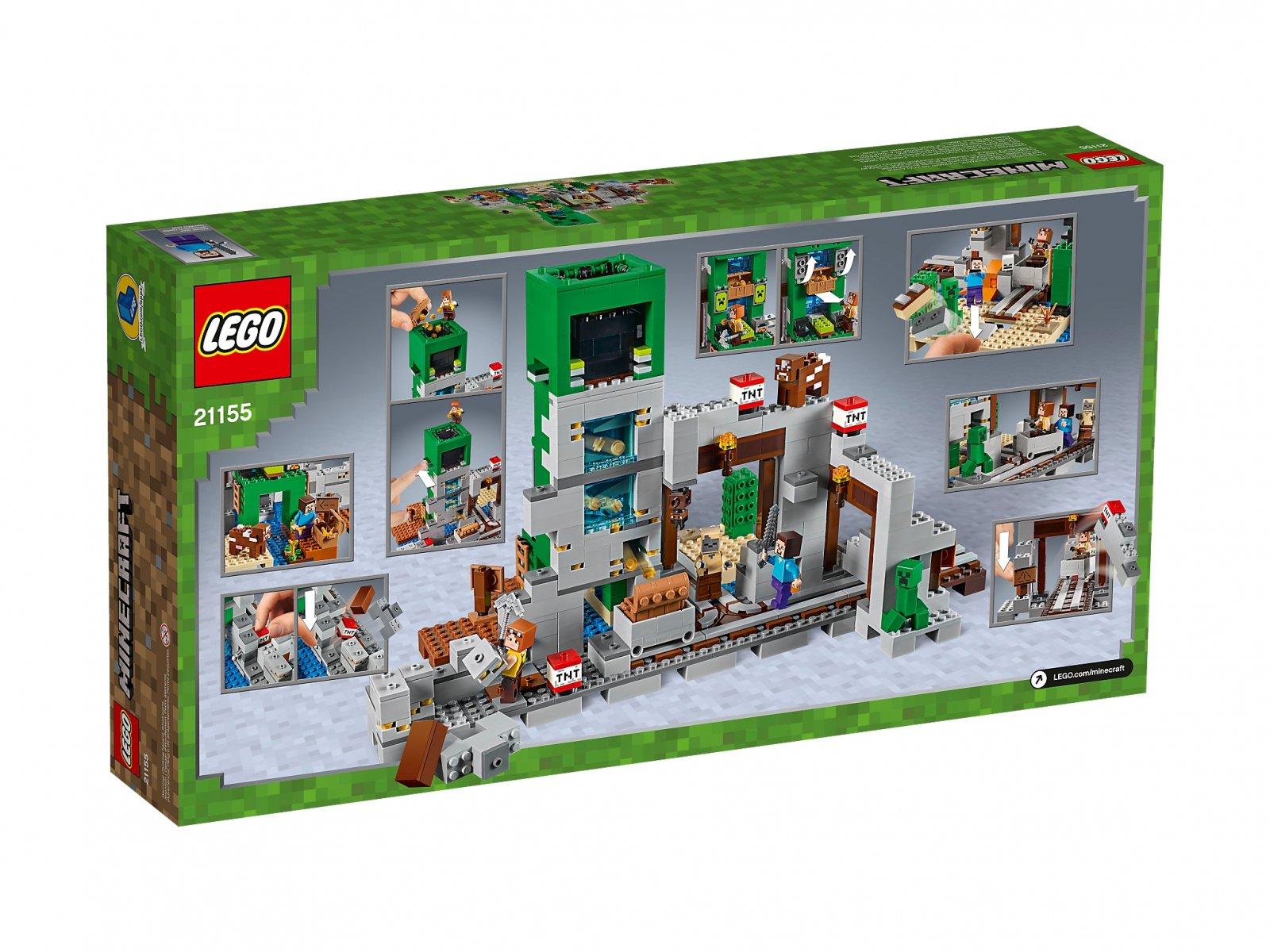 LEGO 21155 Minecraft Kopalnia Creeperów™