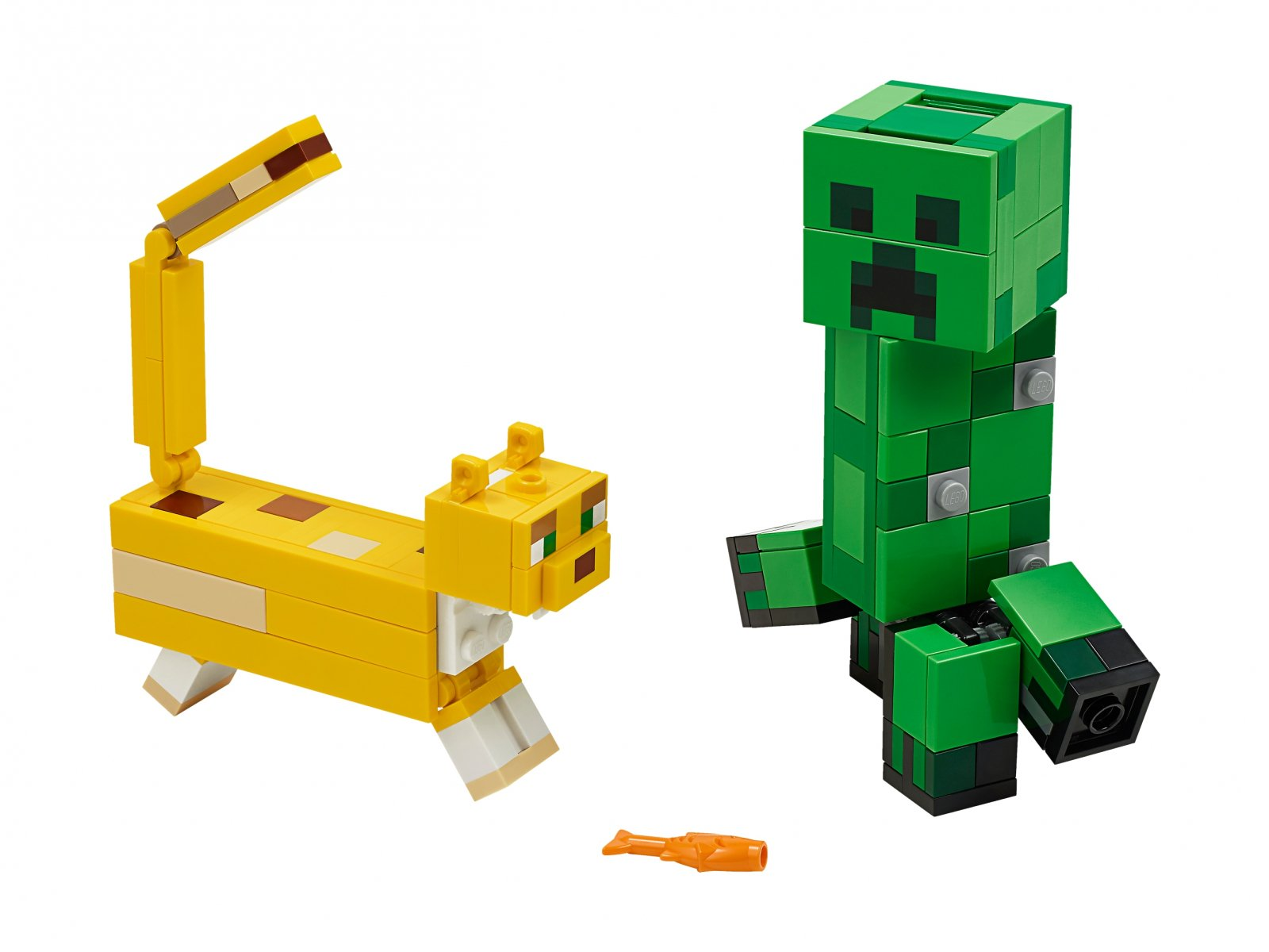 LEGO Minecraft™ BigFig Creeper™ i Ocelot 21156