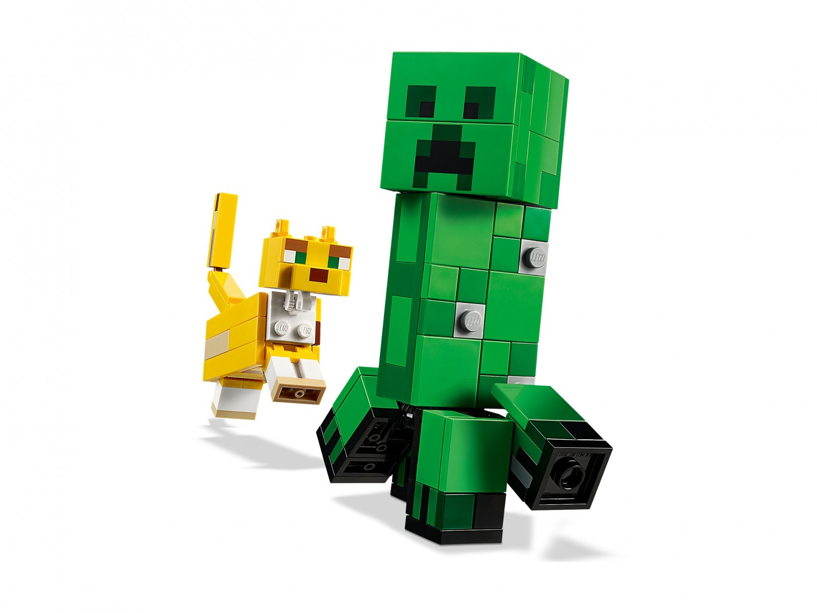 LEGO 21156 Minecraft™ BigFig Creeper™ i Ocelot