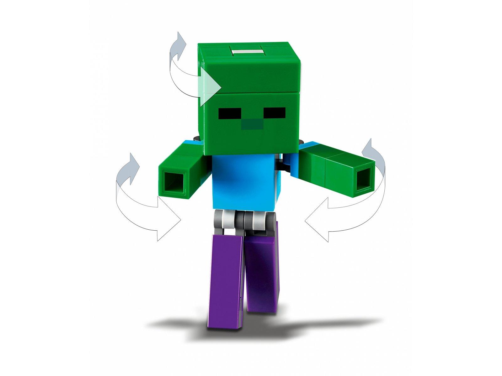 LEGO Minecraft™ Minecraft BigFig - Świnka i mały zombie 21157