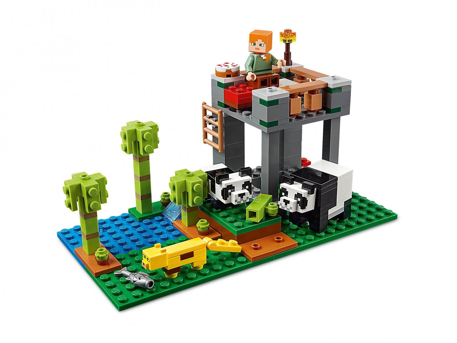 LEGO 21158 Minecraft™ Żłobek dla pand