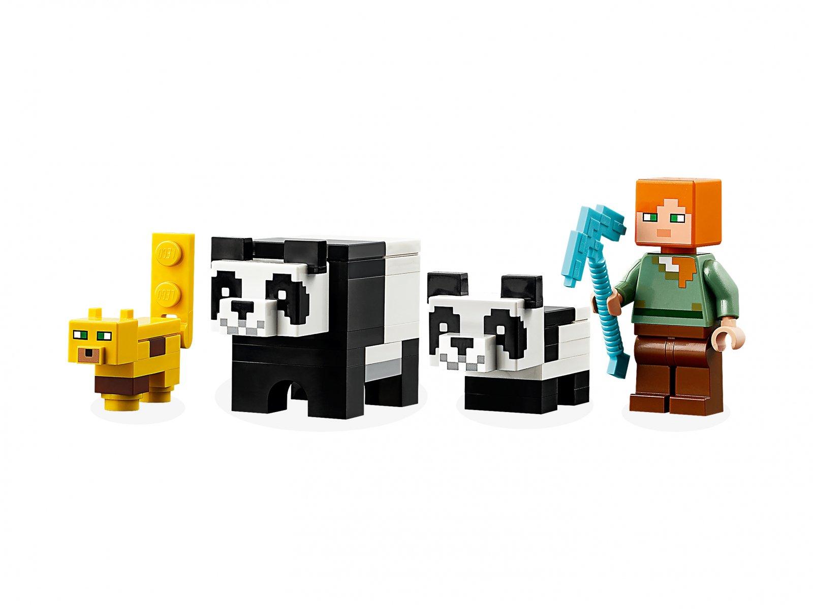 LEGO Minecraft™ 21158 Żłobek dla pand