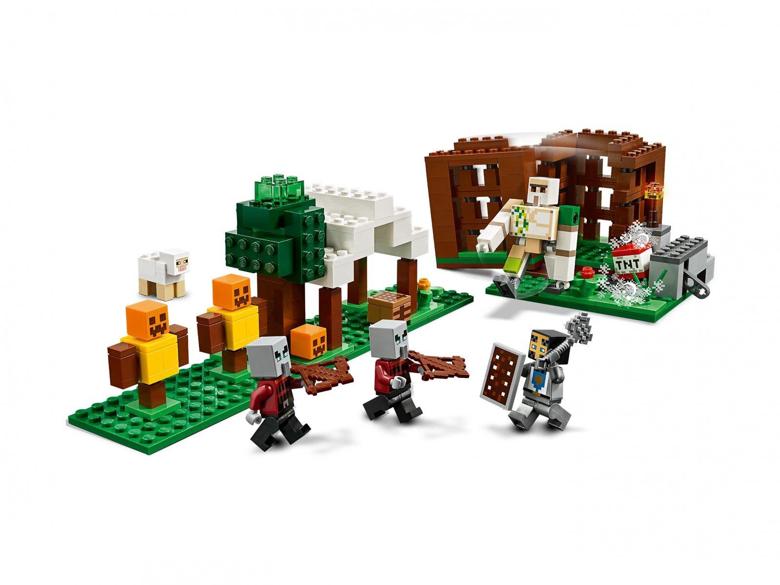 LEGO Minecraft™ Kryjówka rozbójników 21159