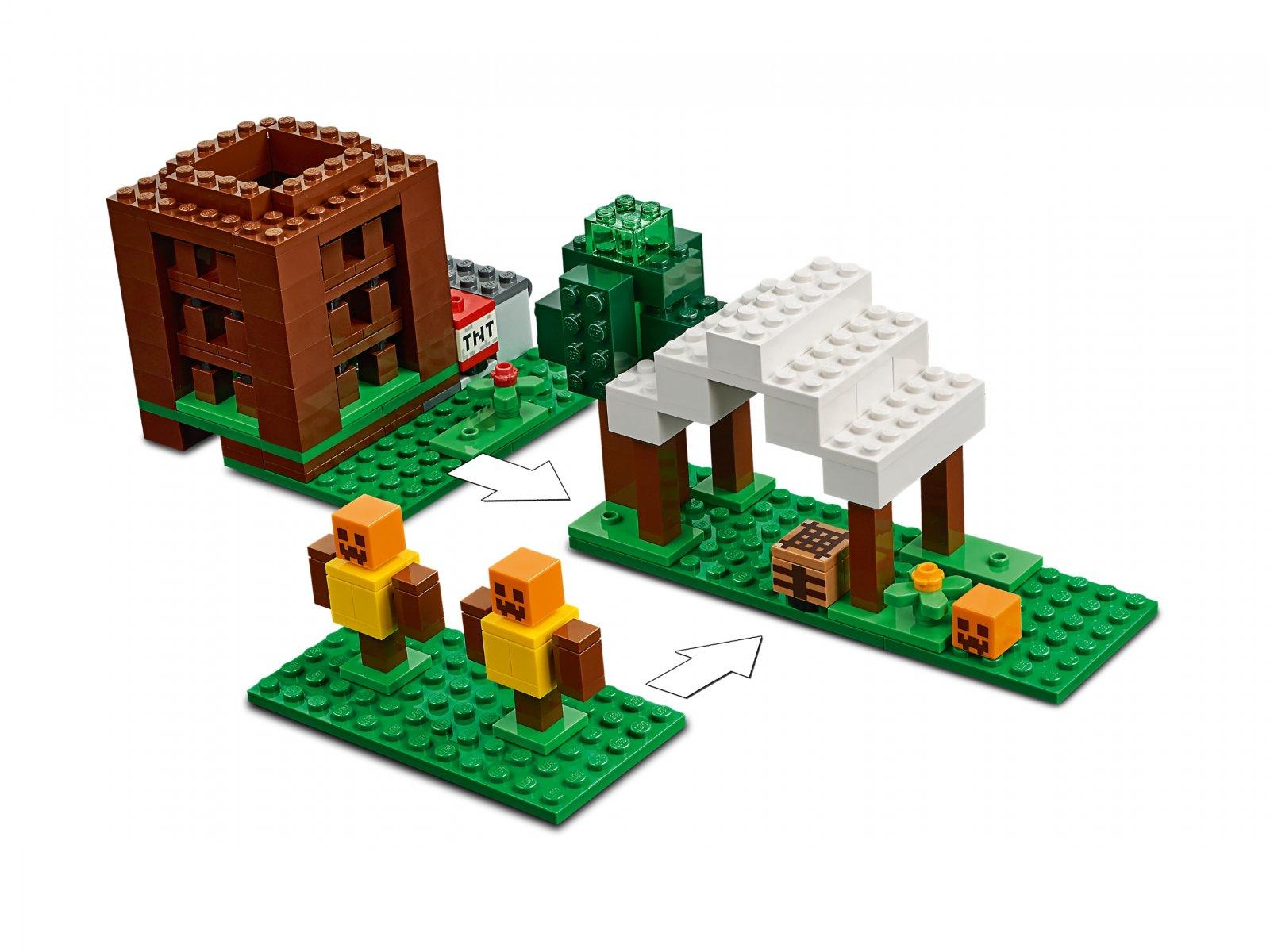 LEGO Minecraft™ 21159 Kryjówka rozbójników