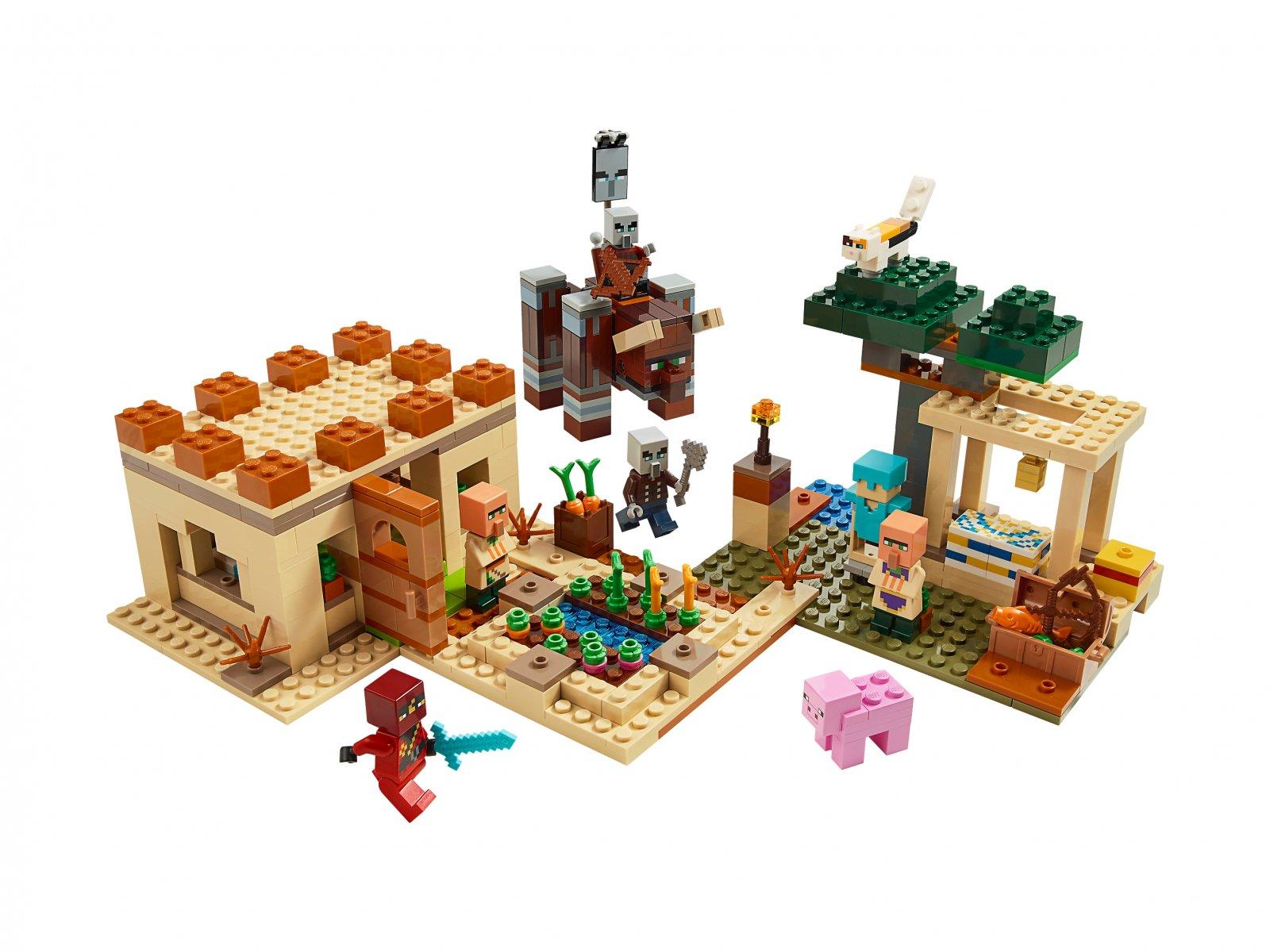 LEGO Minecraft™ 21160 Najazd złosadników